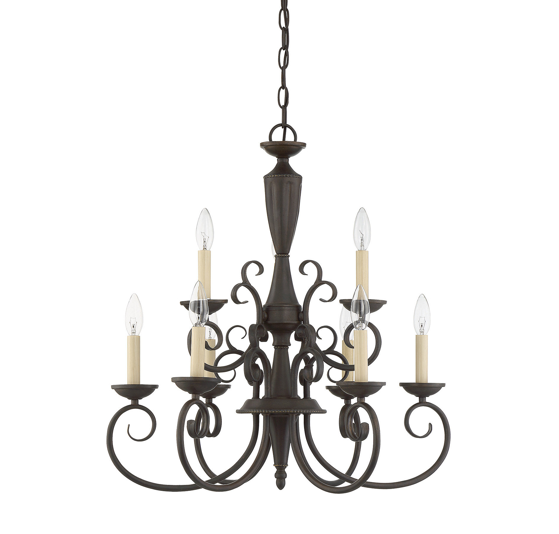 Giverny 9 Light Chandelier | Wayfair Within Giverny 9 Light Candle Style Chandeliers (View 11 of 30)