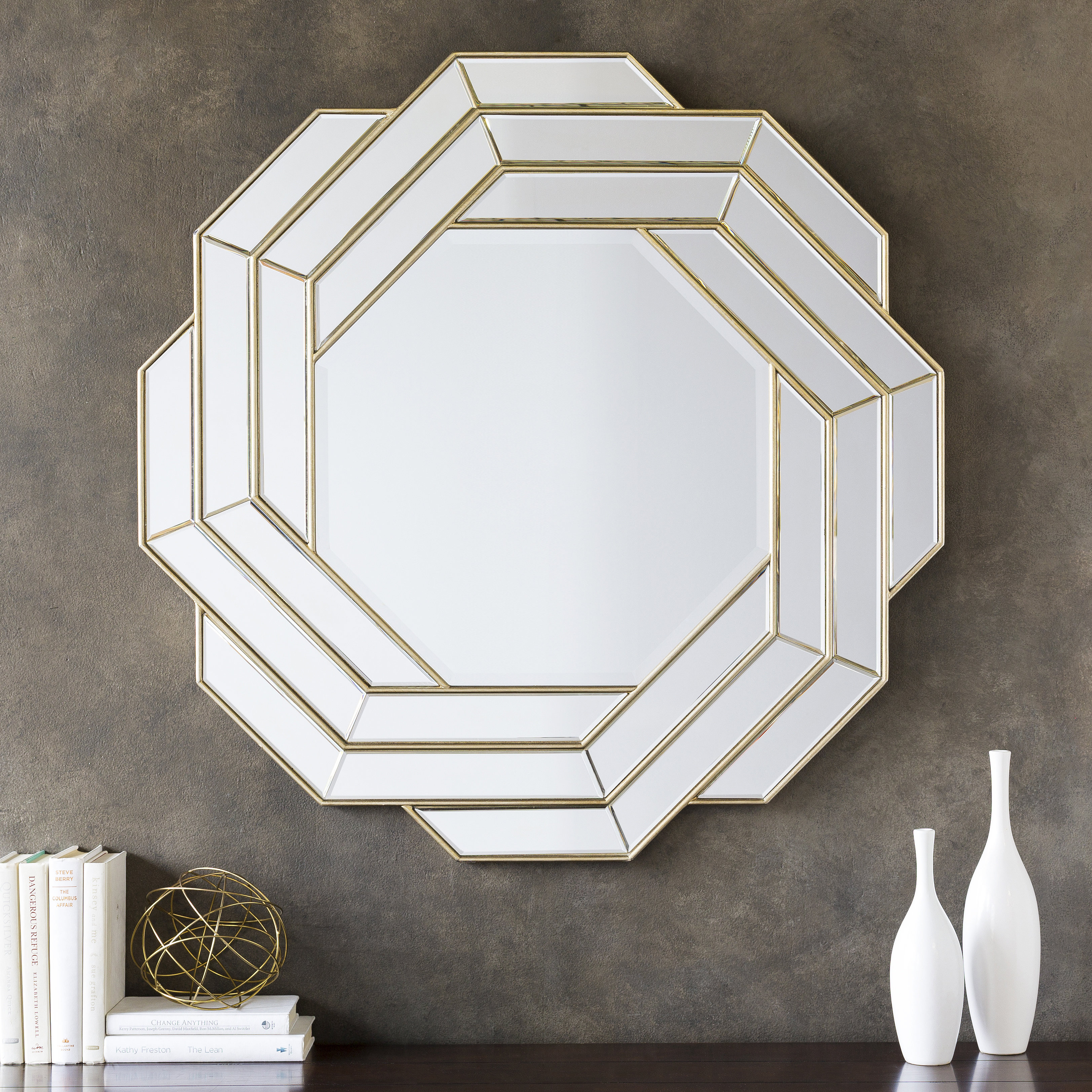 Glam Beveled Accent Mirror For Glam Beveled Accent Mirrors (View 6 of 30)