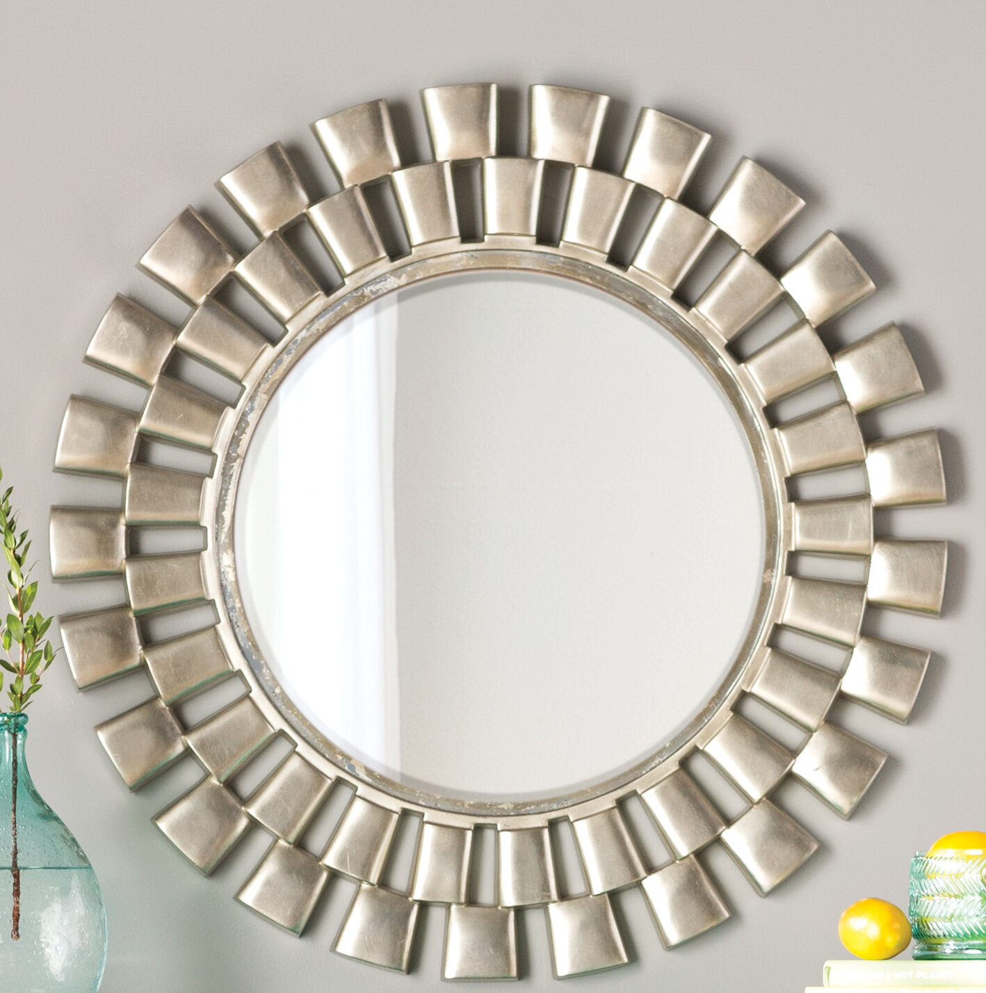 Featured Photo of Glam Beveled Accent Mirrors