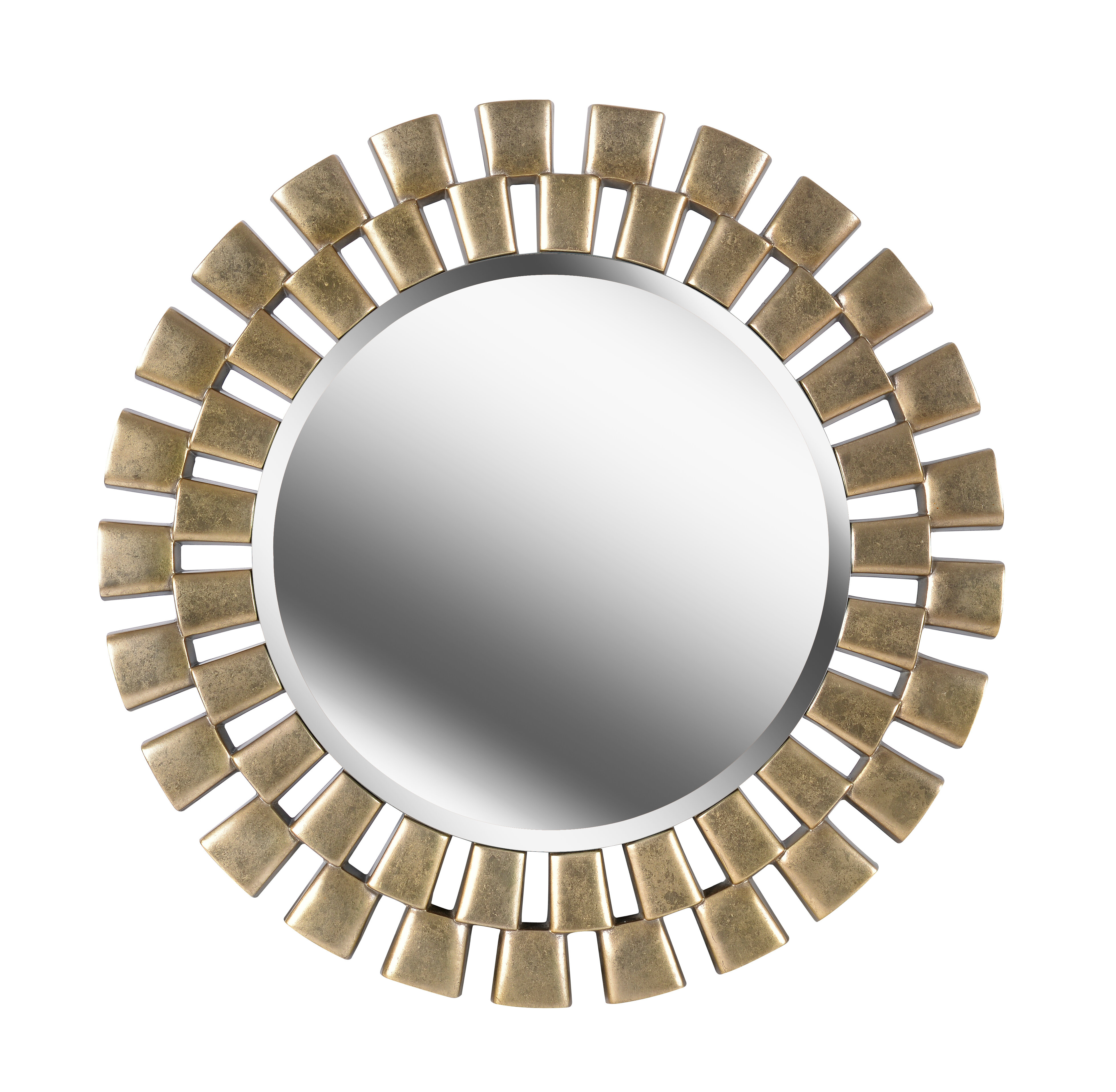 Glam Beveled Accent Mirror With Glam Beveled Accent Mirrors (View 3 of 30)