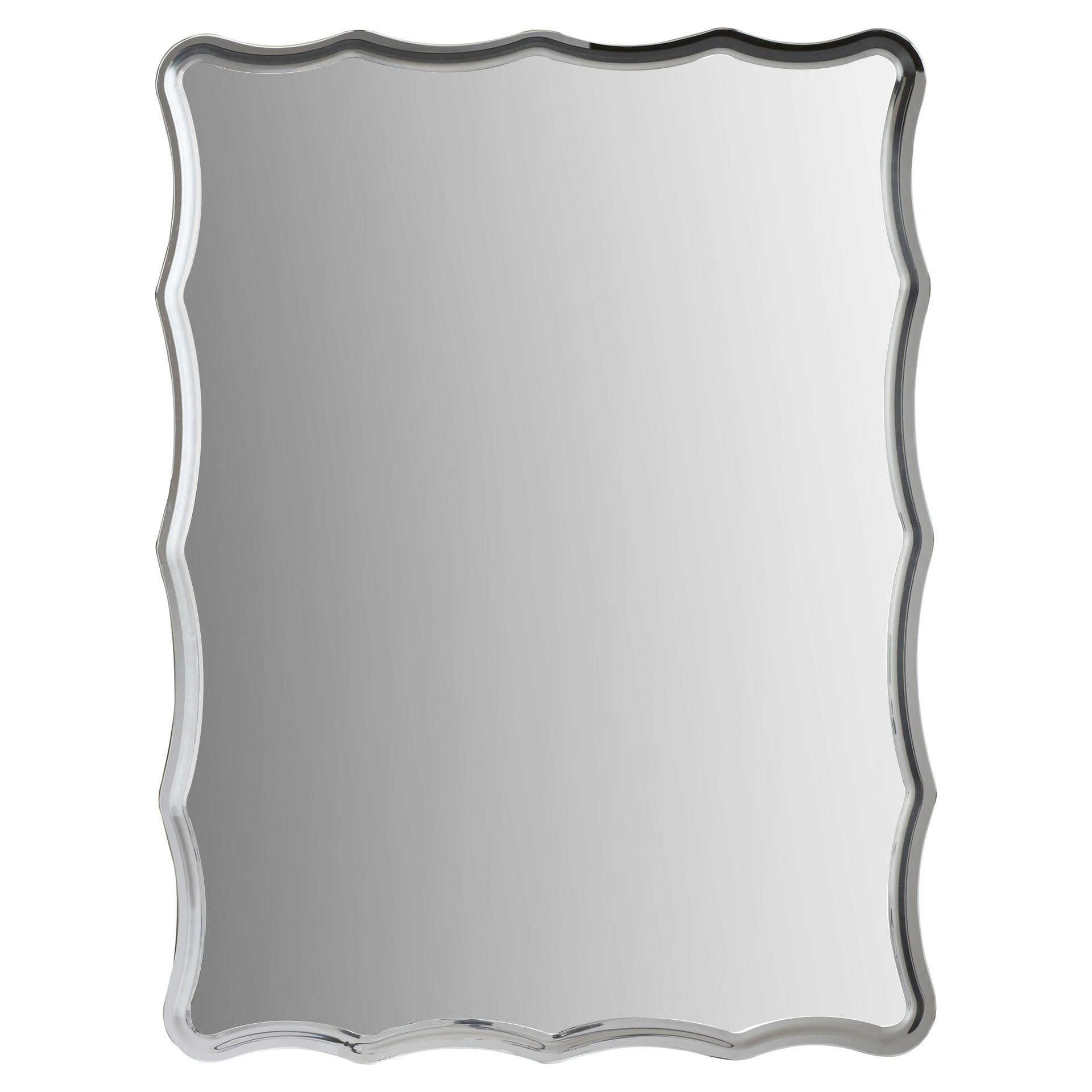 Glam Mirrors | Joss & Main Throughout Caja Rectangle Glass Frame Wall Mirrors (View 7 of 30)