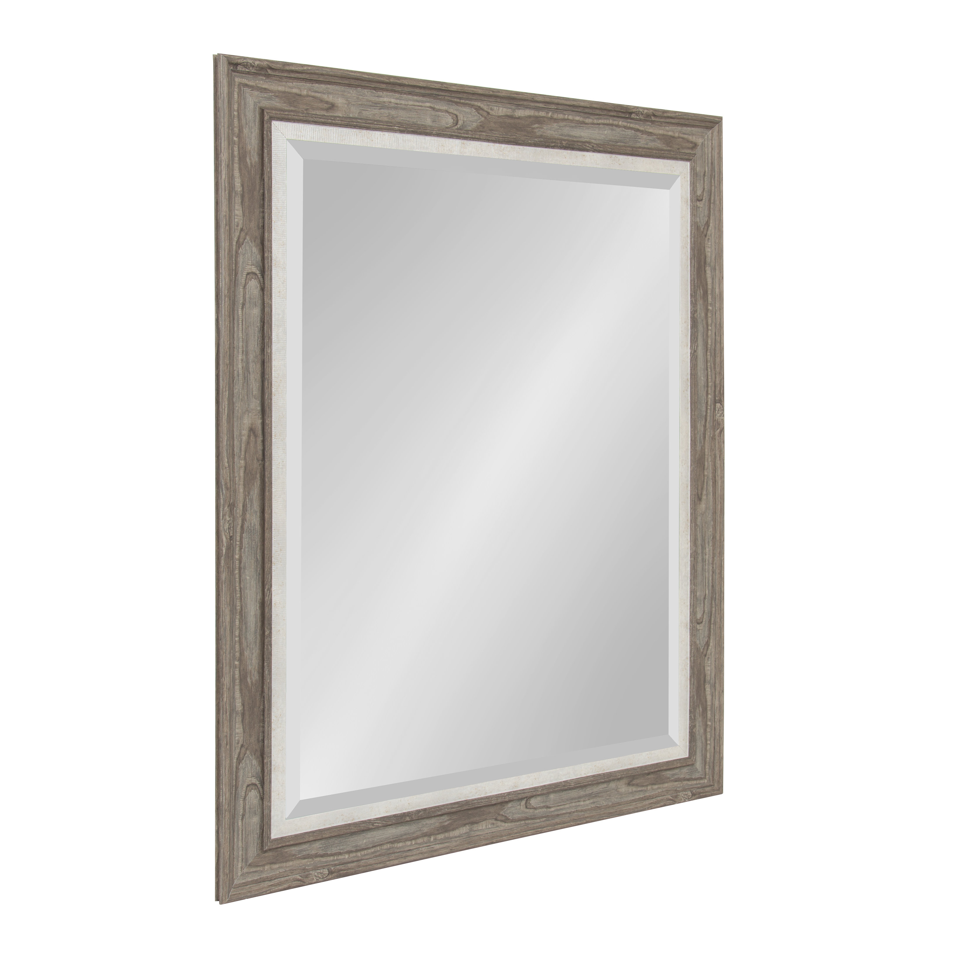 Glass Framed Mirror | Wayfair With Regard To Caja Rectangle Glass Frame Wall Mirrors (View 5 of 30)