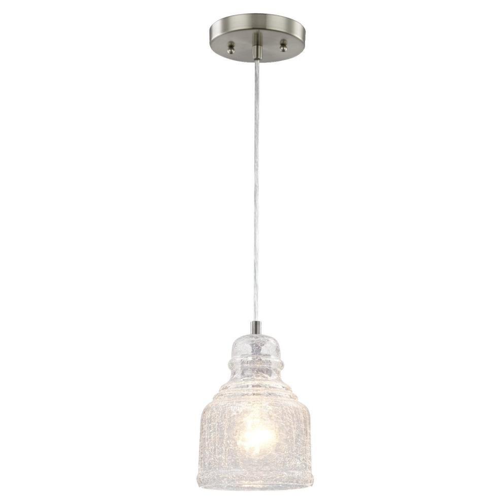 Glassell 1-Light Bell Pendant intended for Oldbury 1-Light Single Cylinder Pendants (Image 14 of 30)