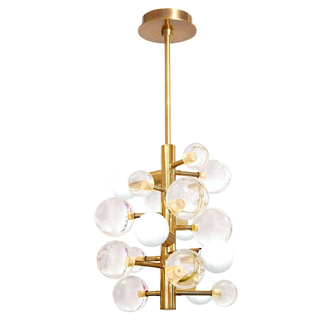 Globe Light Chandelier – Dabun With Shipststour 3 Light Globe Chandeliers (View 15 of 30)