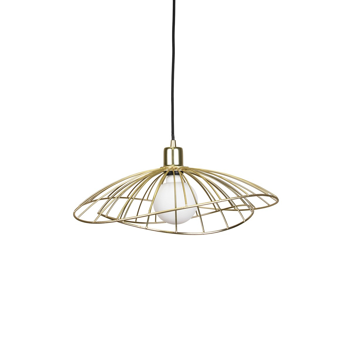 Globen Lighting – Ray Ceiling Lamp Brushed Brass – Babyshop (View 22 of 30)