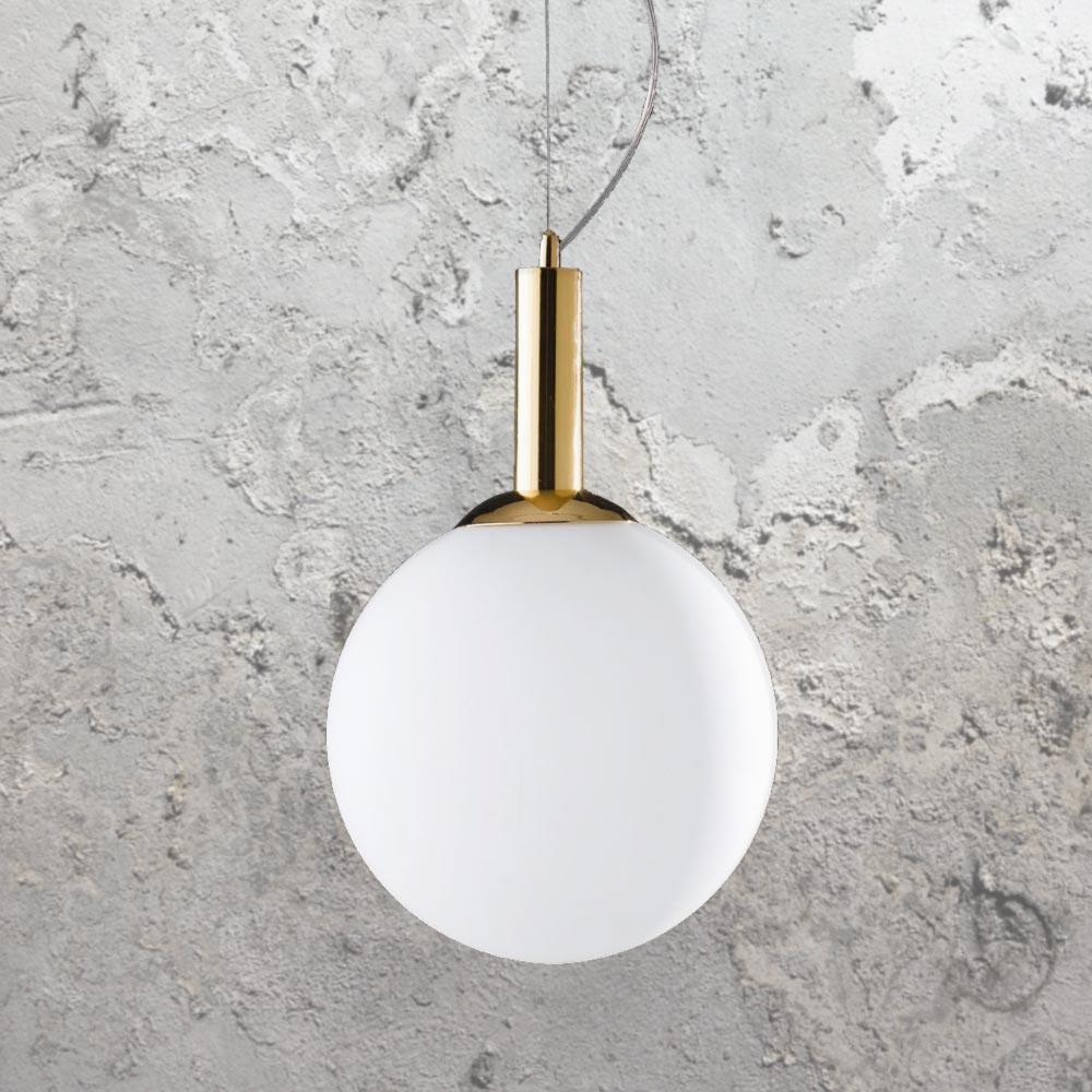 Gold Globe Pendant Light Cl-36271 intended for 1-Light Geometric Globe Pendants (Image 18 of 30)