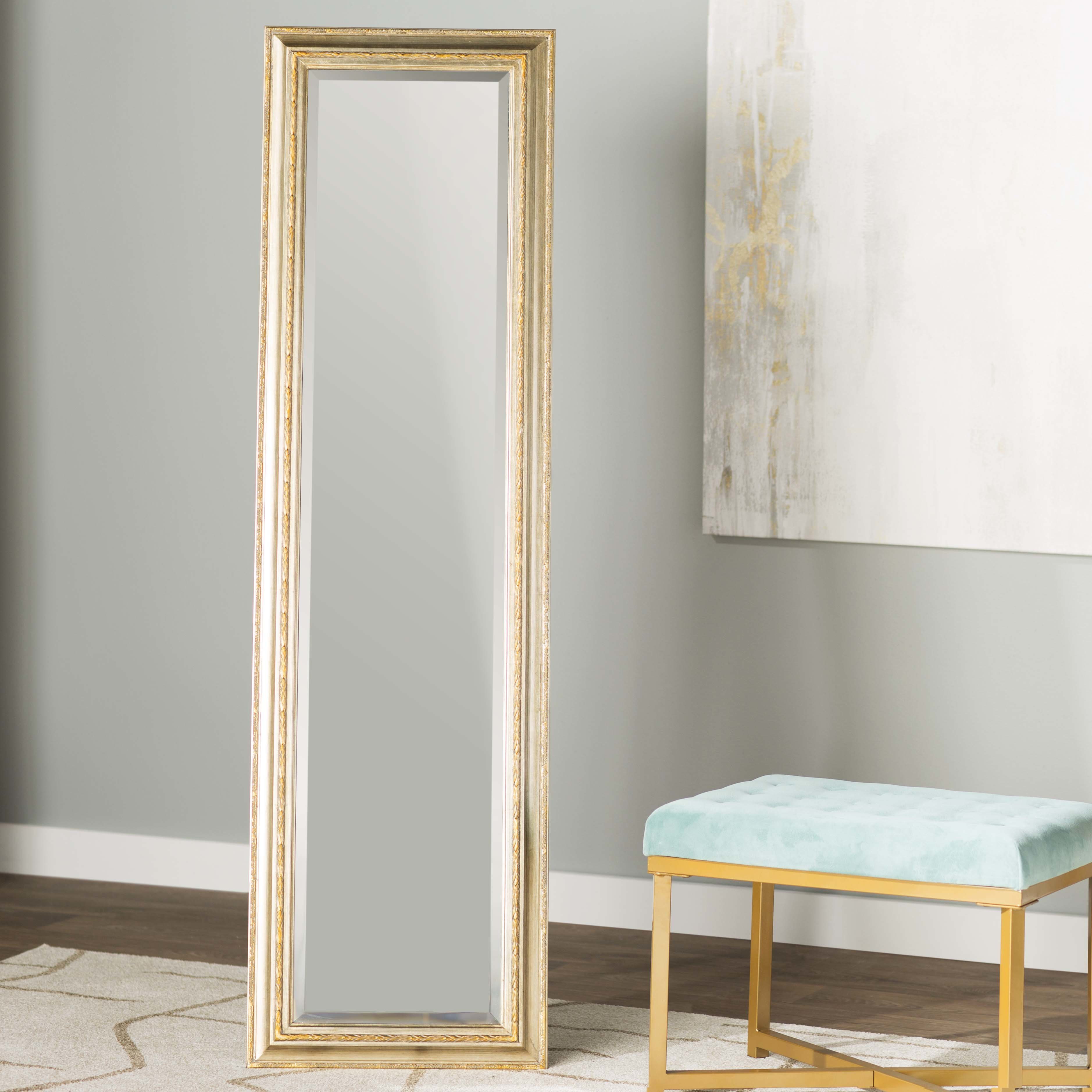 Gold Large & Oversized Floor Mirrors You'll Love In 2019 throughout Leaning Mirrors (Image 13 of 30)