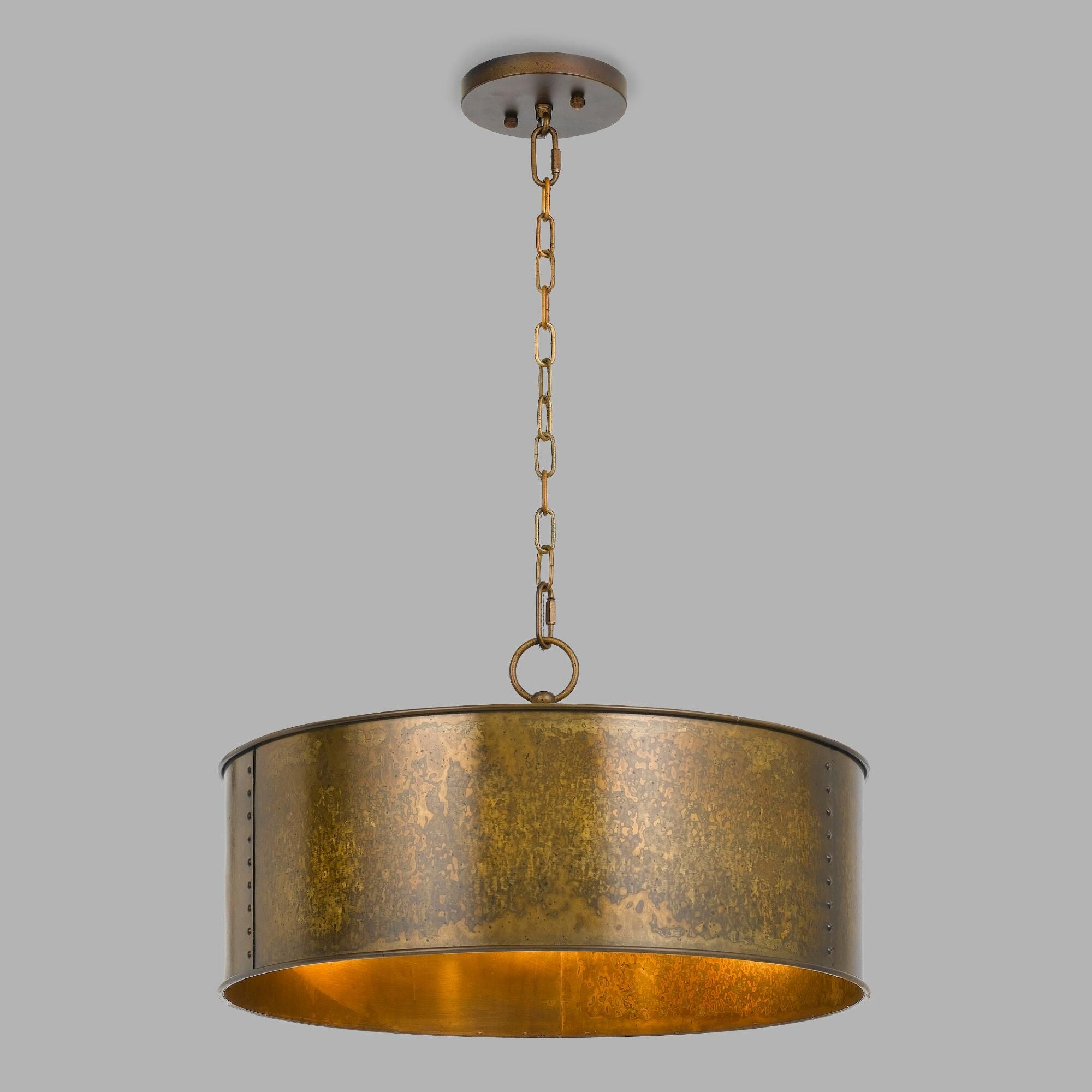Gold Patina 3 Light Winta Pendant | Home Goods | Dining In Rockland 4 Light Geometric Pendants (View 8 of 30)