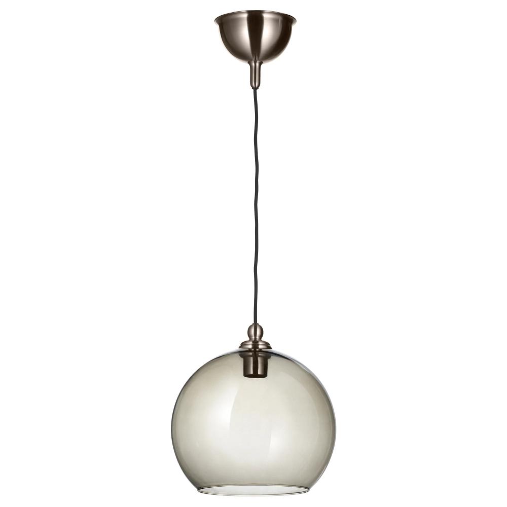 Gothem / Jakobsbyn Pendant Lamp – Dark Gray, Smoked – Ikea Pertaining To Gattilier 3 Light Cluster Pendants (View 13 of 30)