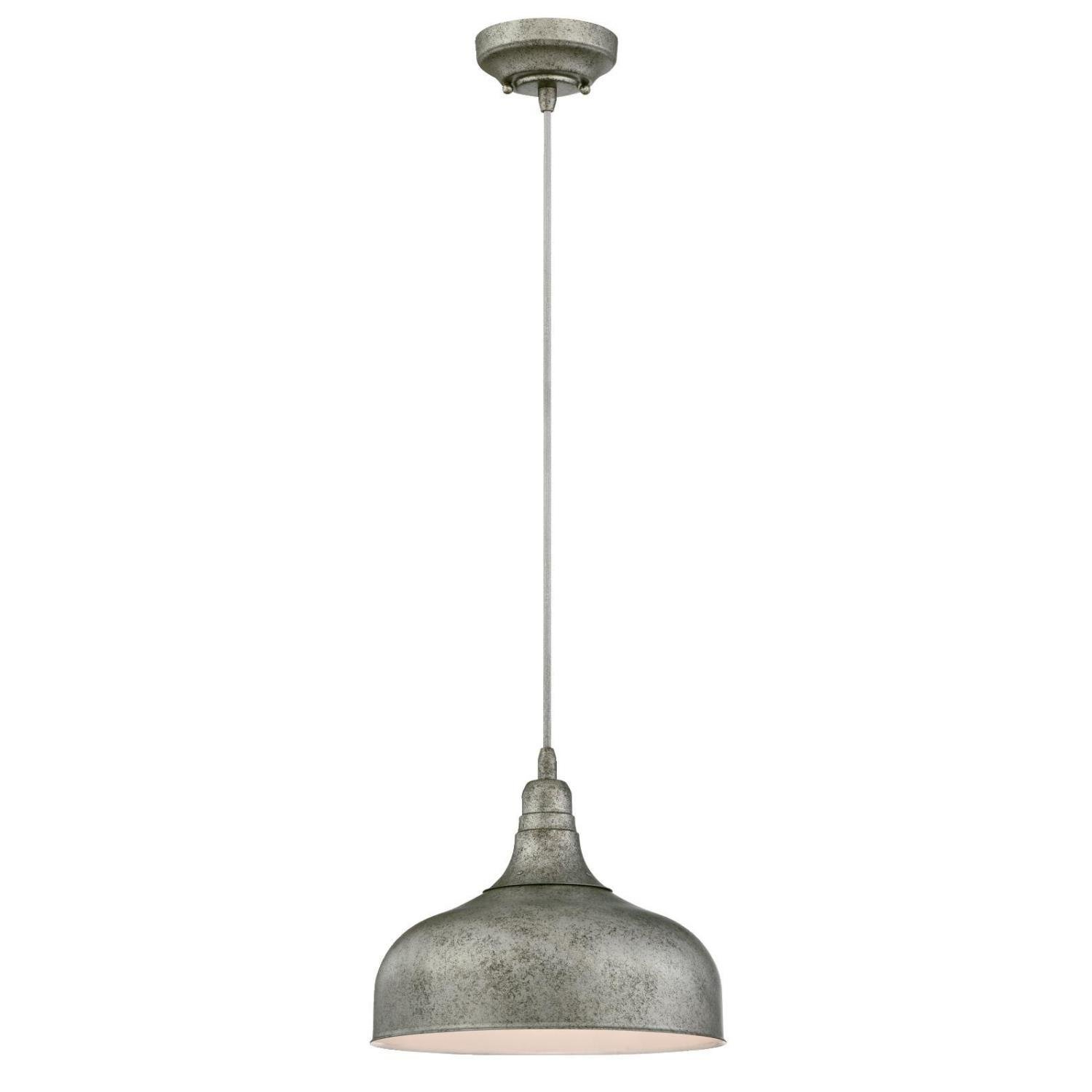 Gracie Oaks Burwan 1 Light Dome Pendant For Amara 3 Light Dome Pendants (Image 17 of 30)