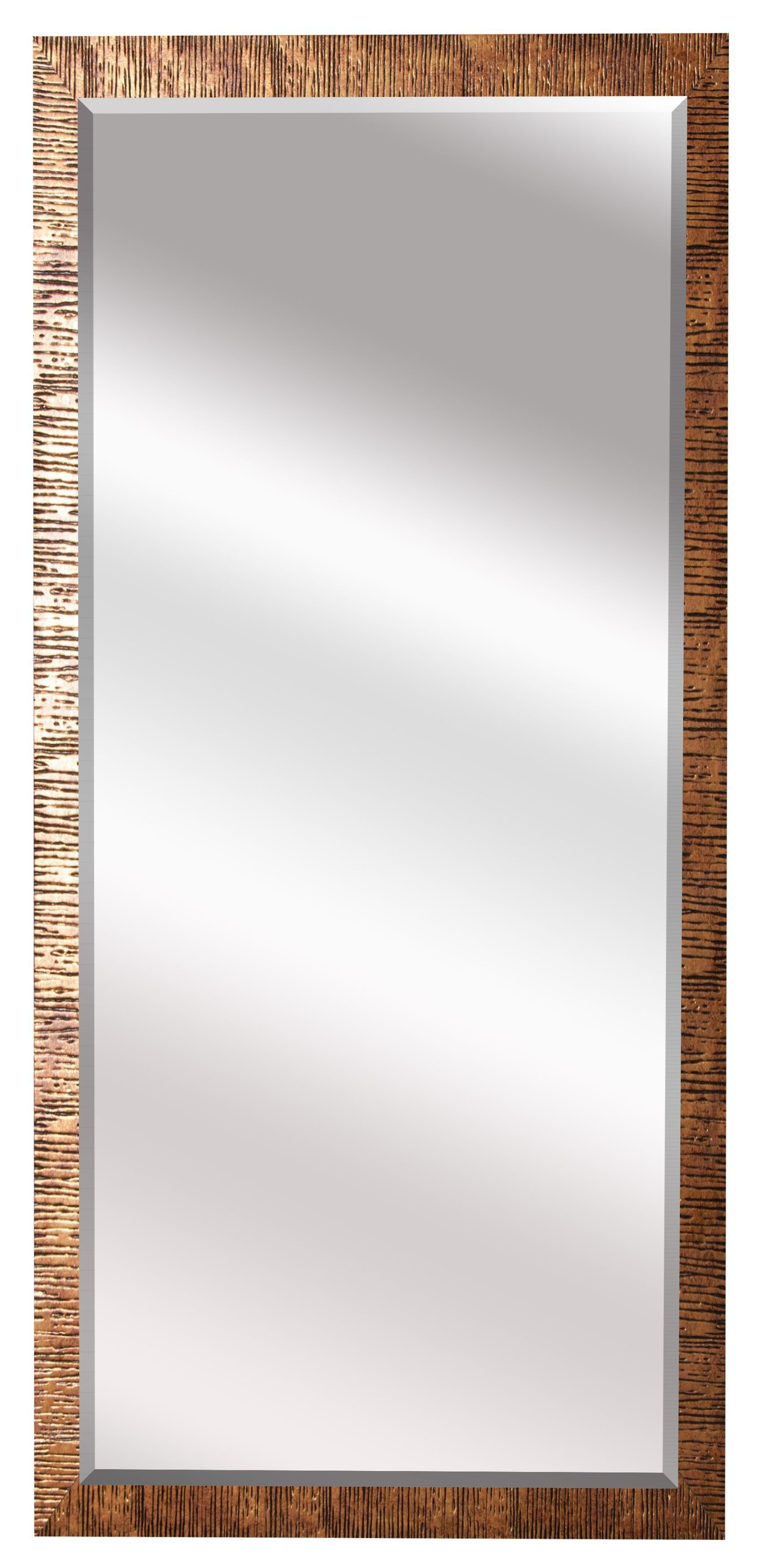Grain Texture Modern & Contemporary Beveled Wall Mirror for Modern & Contemporary Beveled Wall Mirrors (Image 14 of 30)