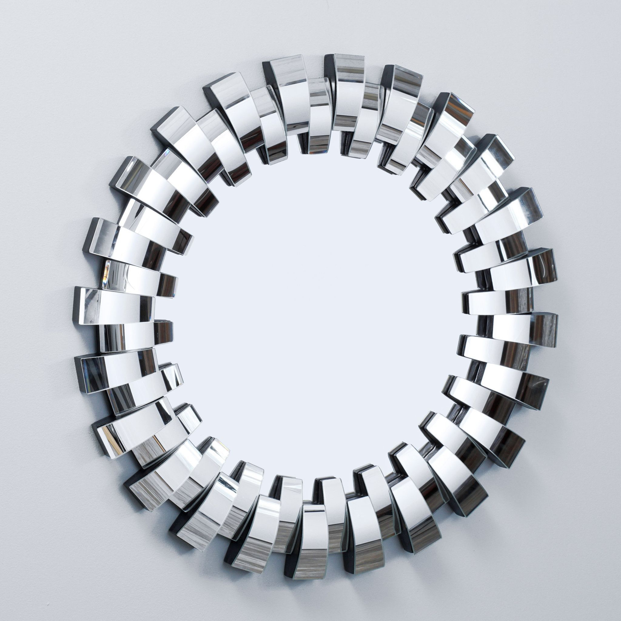 Grande Round Curved Mirror | Fav In 2019 | Home Decor Pertaining To Deniece Sunburst Round Wall Mirrors (View 12 of 30)