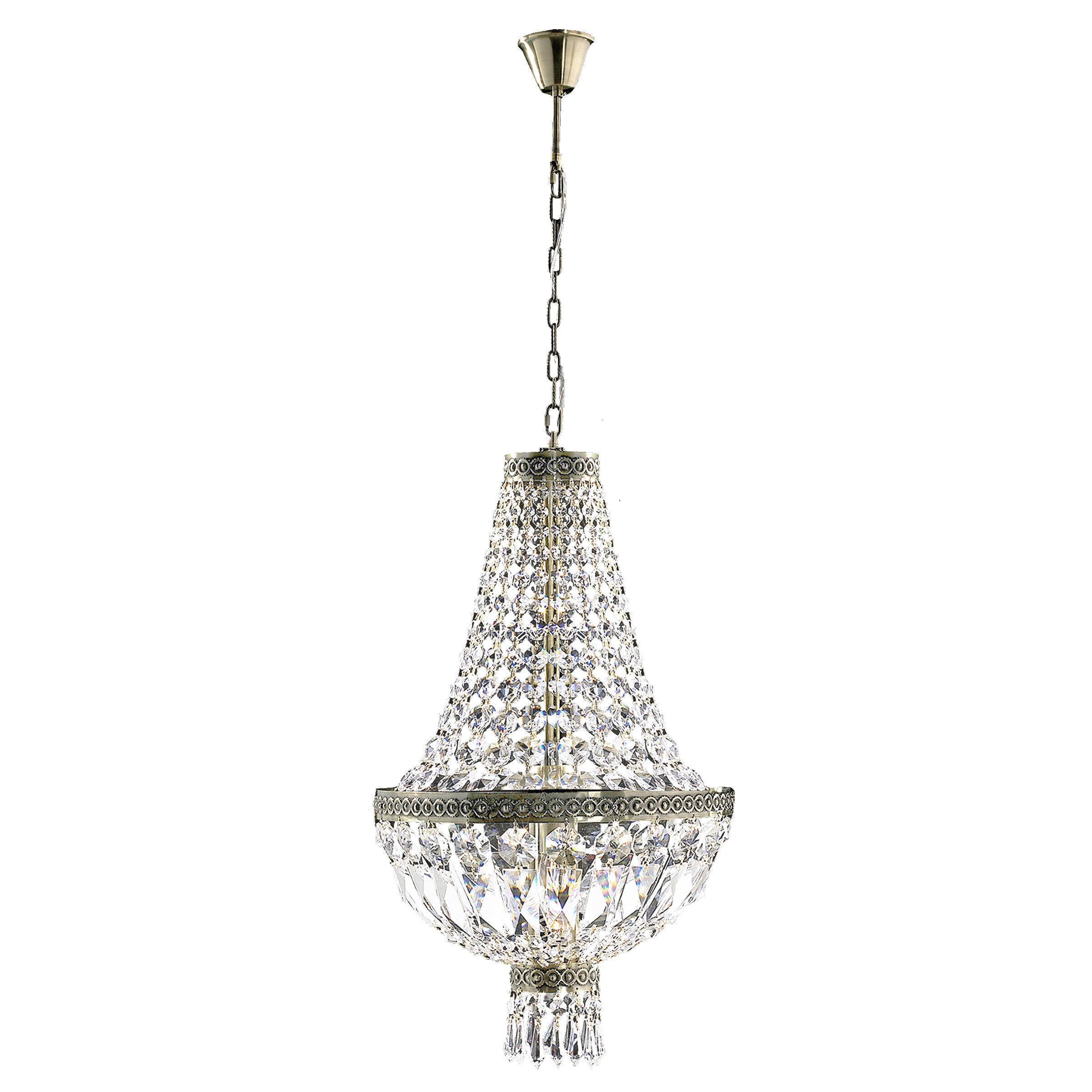 Grandin 1-Light Crystal Pendant within Spokane 1-Light Single Urn Pendants (Image 19 of 30)