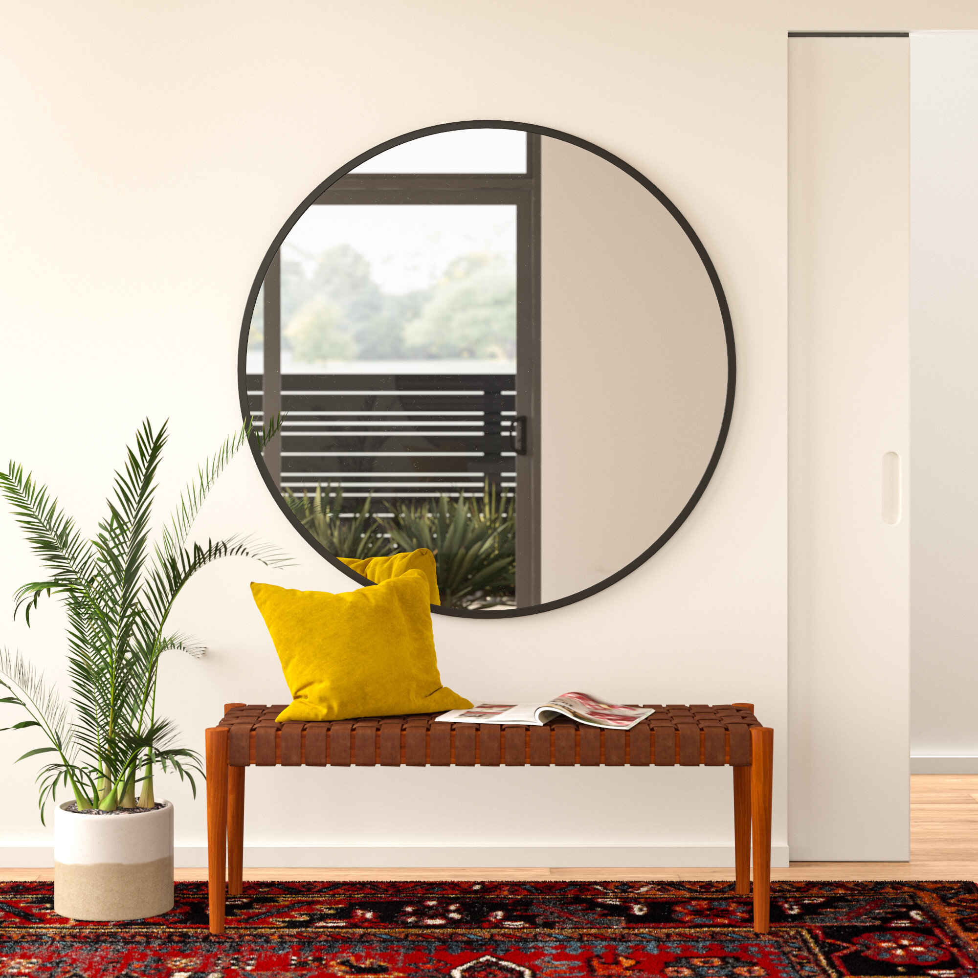 Greyleigh Needville Modern & Contemporary Accent Mirror Regarding Needville Modern & Contemporary Accent Mirrors (View 5 of 30)