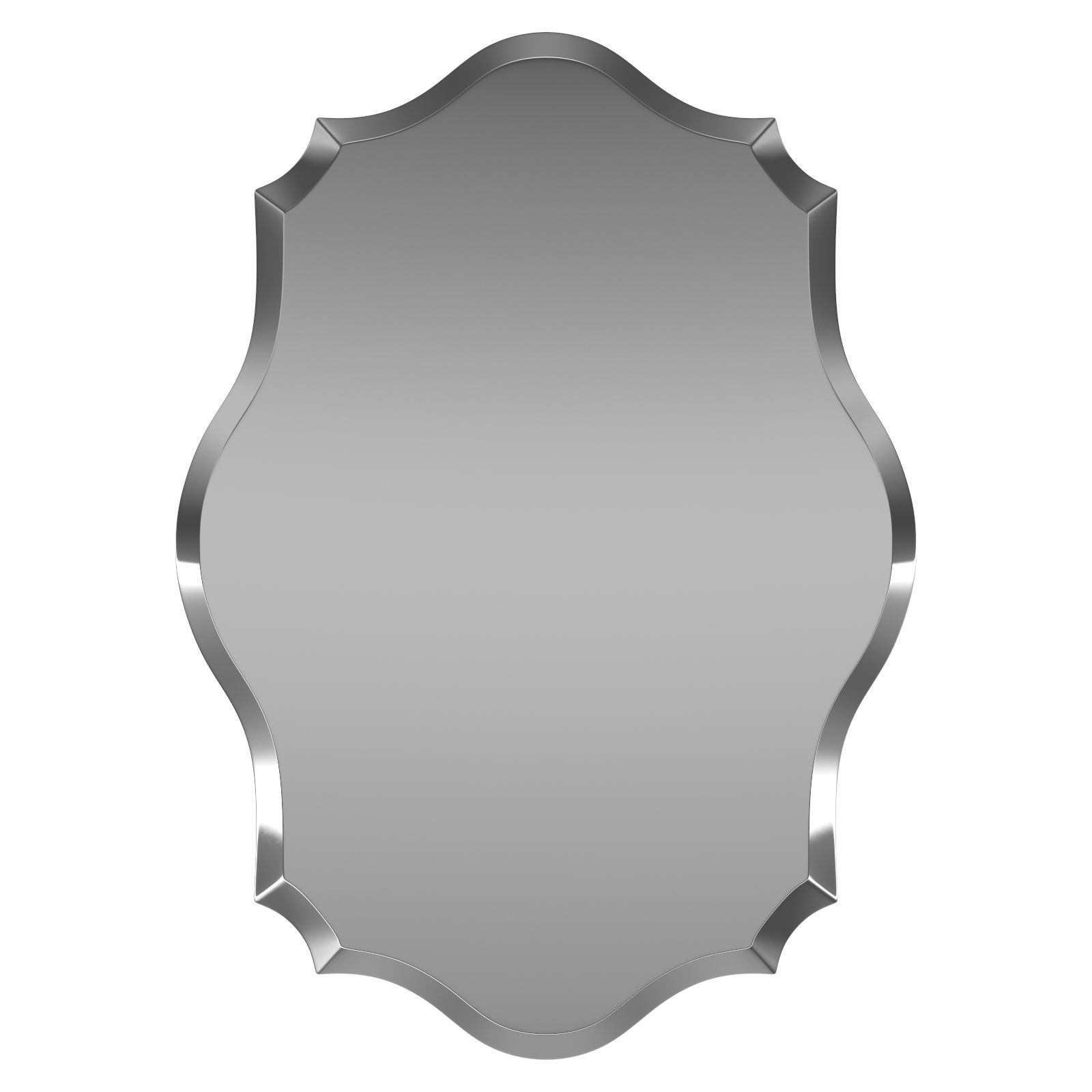 Guidinha Accent Mirror Bl7495 | 3D Model With Regard To Egor Accent Mirrors (View 16 of 30)