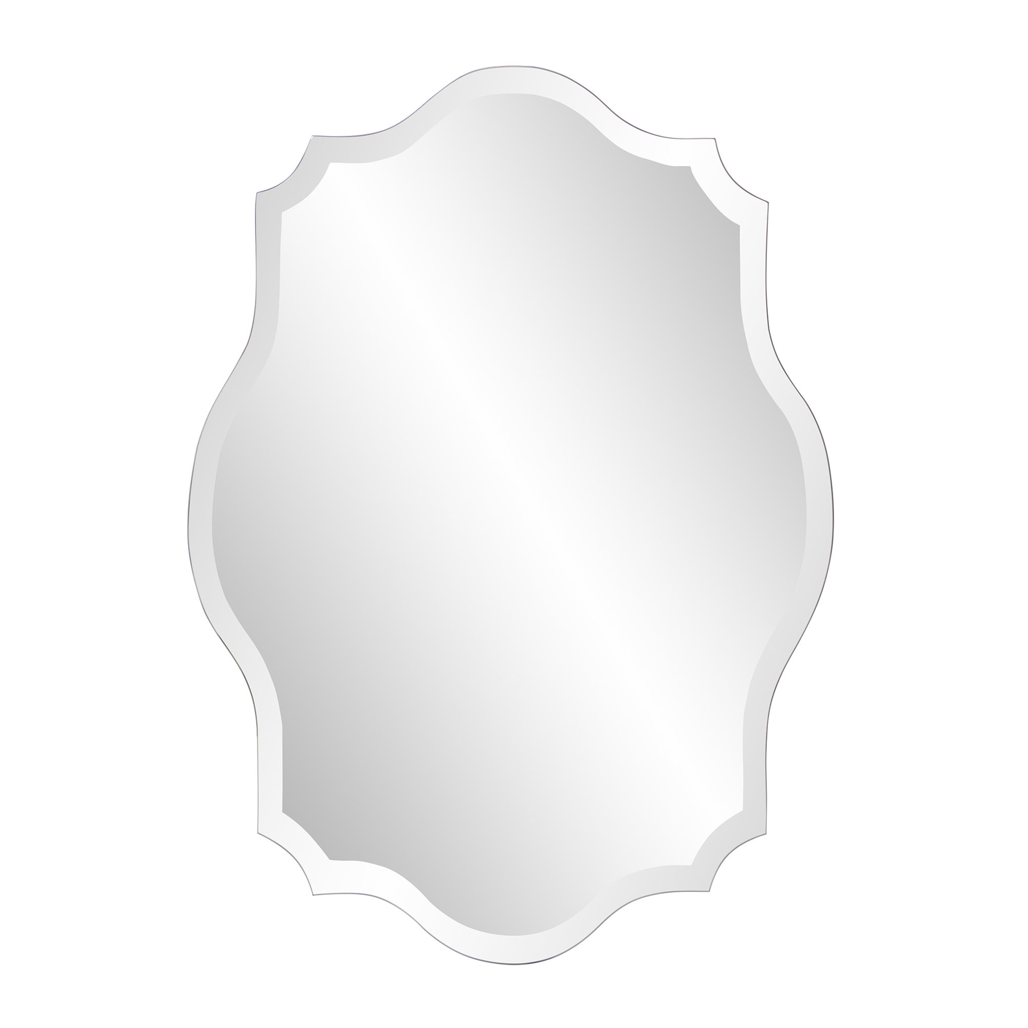 Guidinha Modern & Contemporary Accent Mirror In Guidinha Modern & Contemporary Accent Mirrors (View 3 of 30)