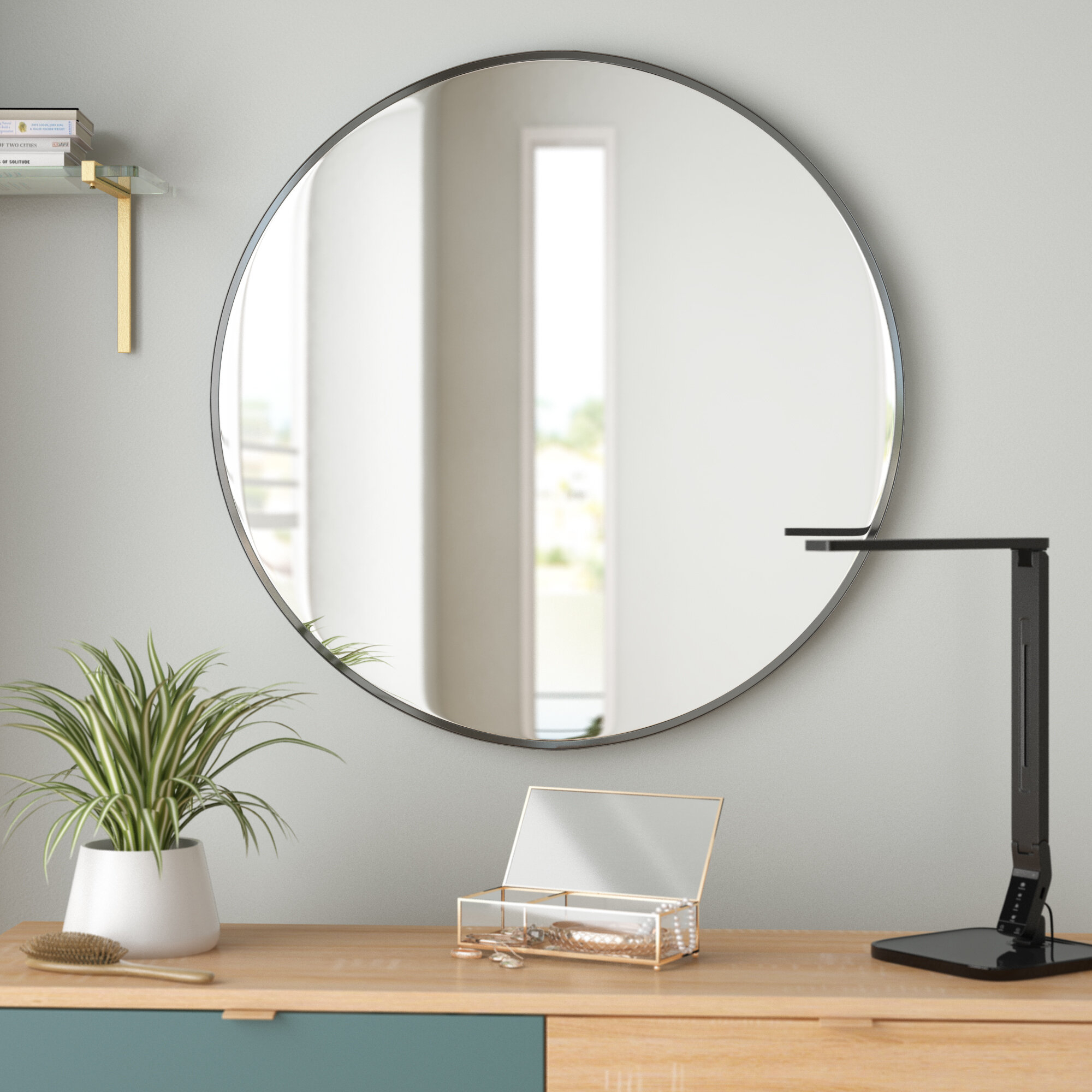 Harlem Accent Mirror In Luna Accent Mirrors (View 5 of 30)