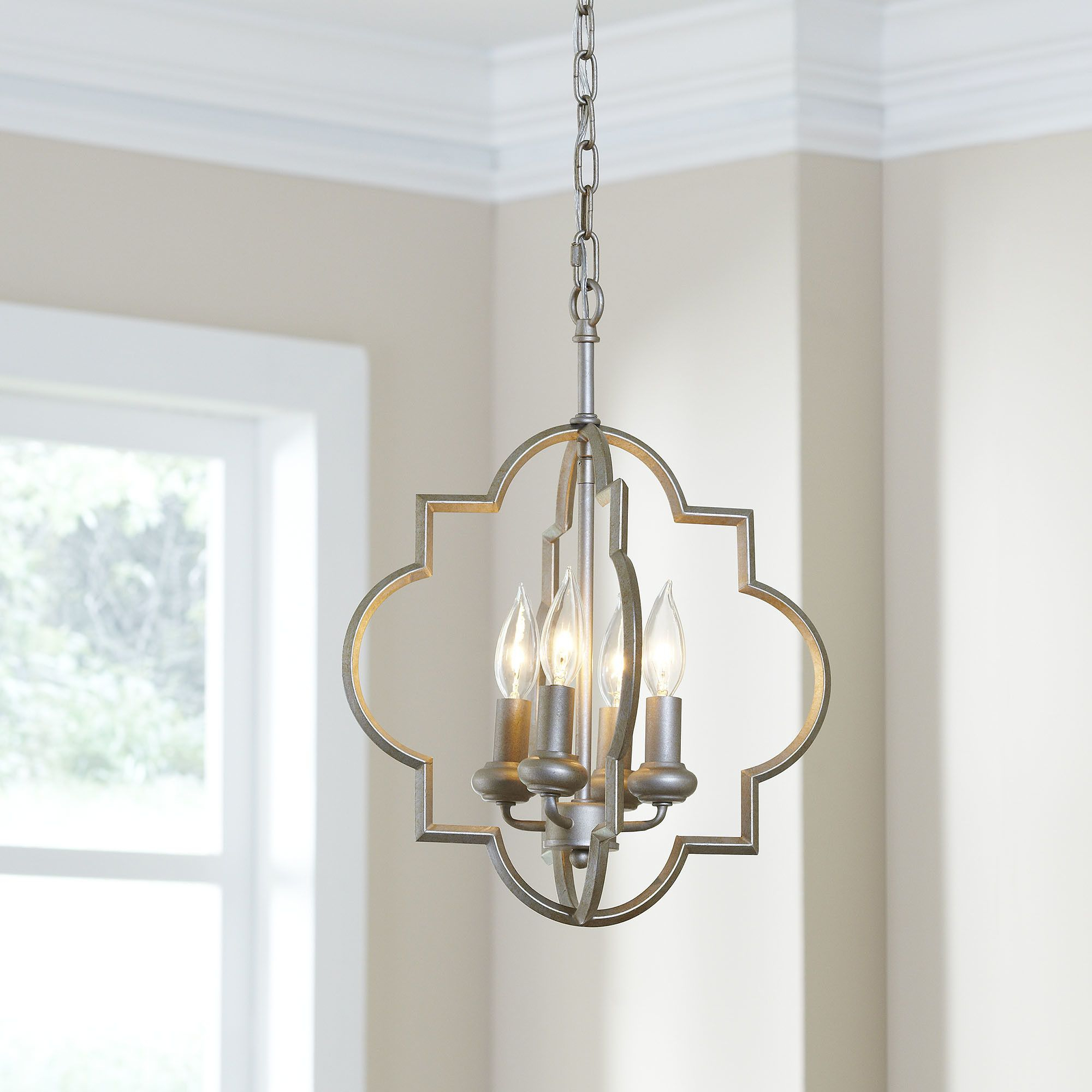 Hartley 4 Light Geometric Pendant | The Perfect Piece With Regard To Kaycee 4 Light Geometric Chandeliers (View 21 of 30)
