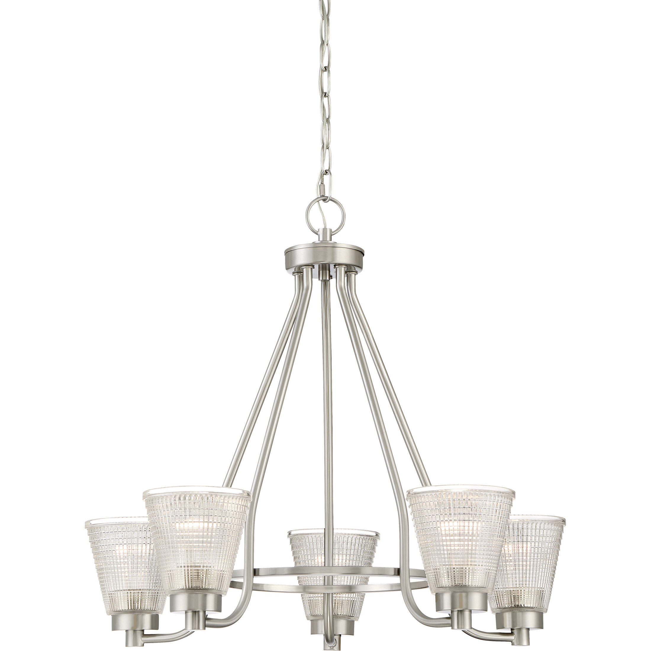Haskett 5 Light Shaded Chandelier With Regard To Newent 5 Light Shaded Chandeliers (View 20 of 30)