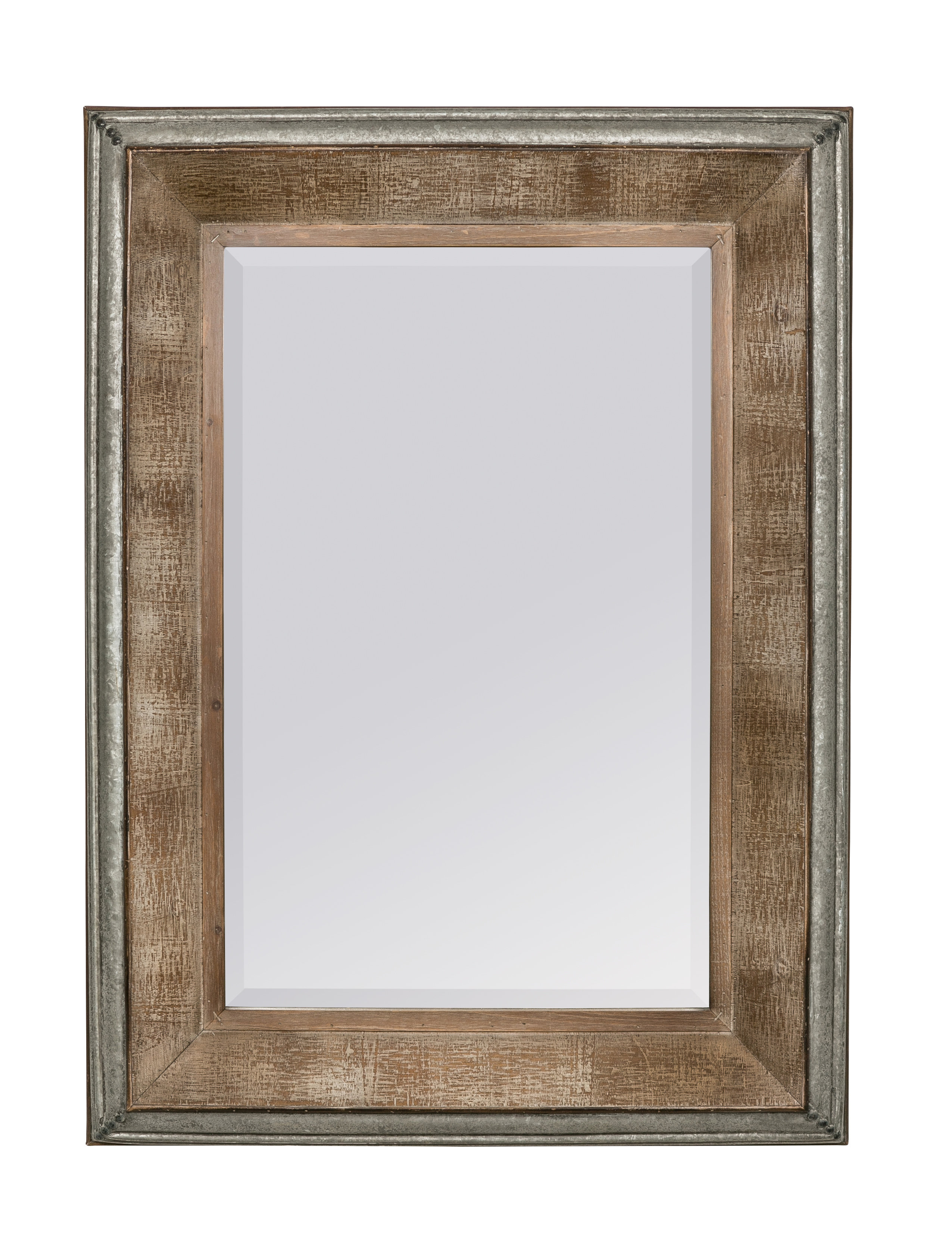 Hatten Modern & Contemporary Beveled Accent Mirror Intended For Modern & Contemporary Beveled Accent Mirrors (View 17 of 30)