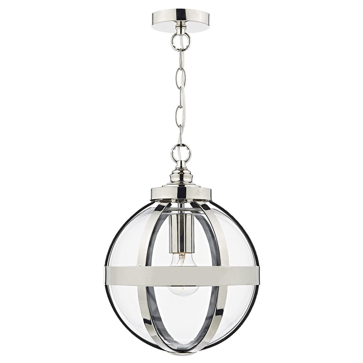 Heath 1 Light Pendant Polished Nickel with 1-Light Single Star Pendants (Image 18 of 30)