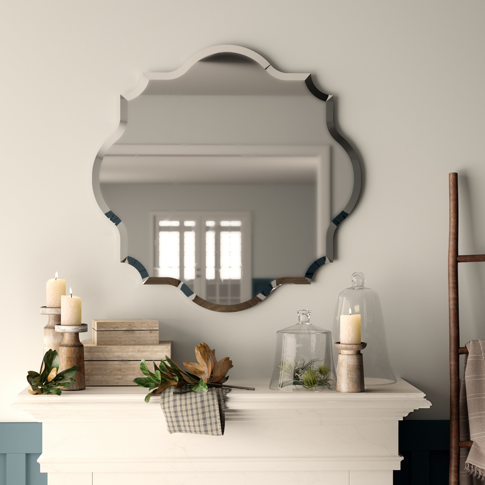 Helder Modern & Contemporary Wall Mirror Pertaining To Guidinha Modern & Contemporary Accent Mirrors (View 23 of 30)