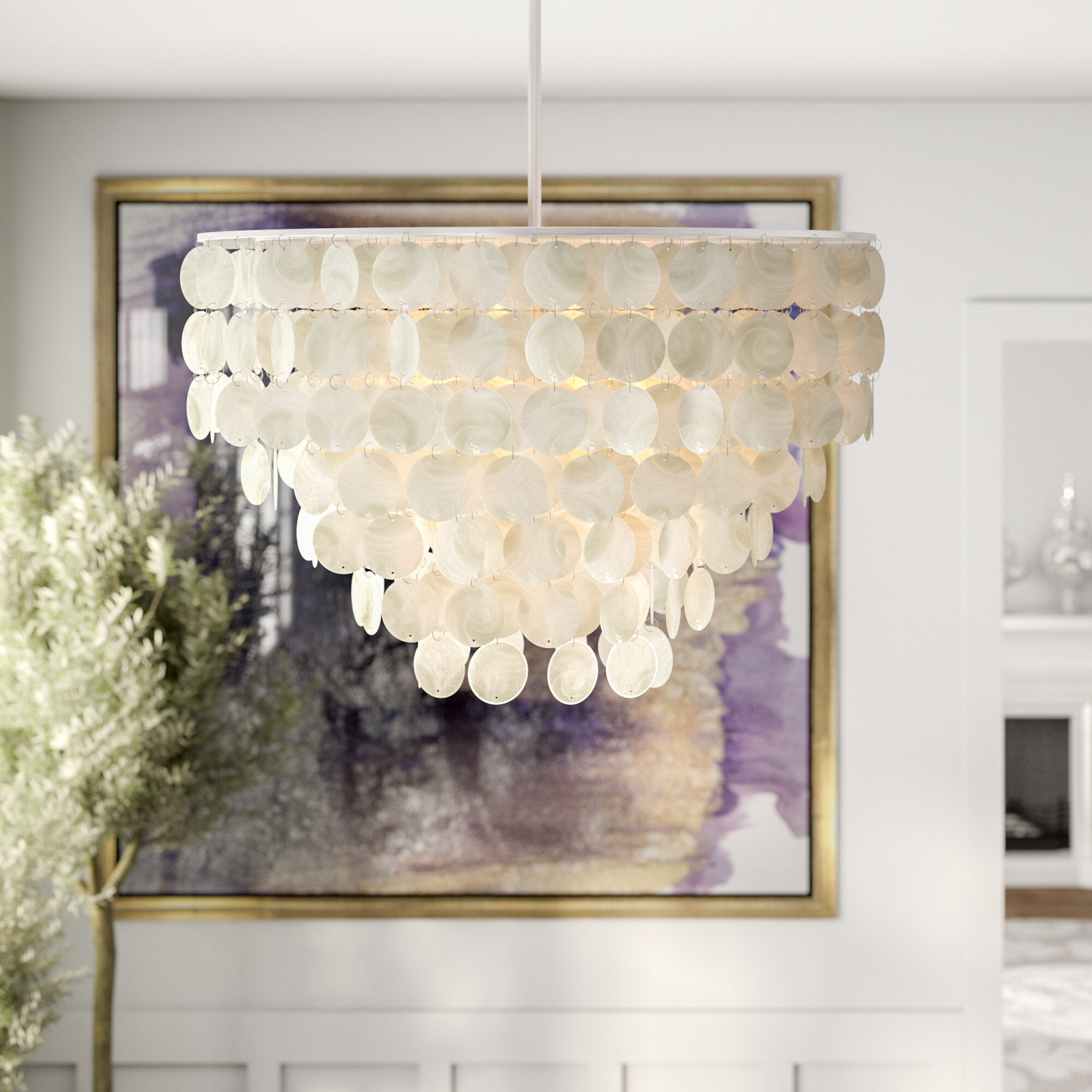 Henry 6 Light Crystal Chandelier Within Bramers 6 Light Novelty Chandeliers (View 18 of 30)