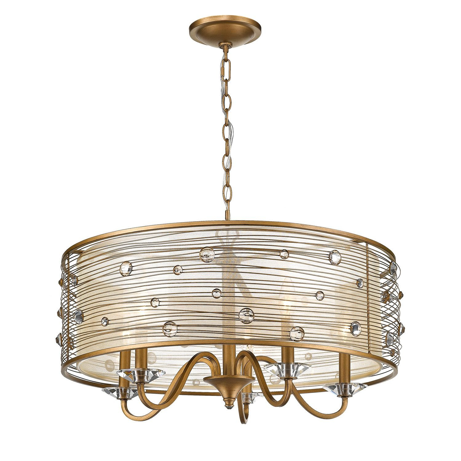 Hermione 5 Light Drum Chandelier | Products | Chandelier In Hermione 5 Light Drum Chandeliers (View 5 of 30)
