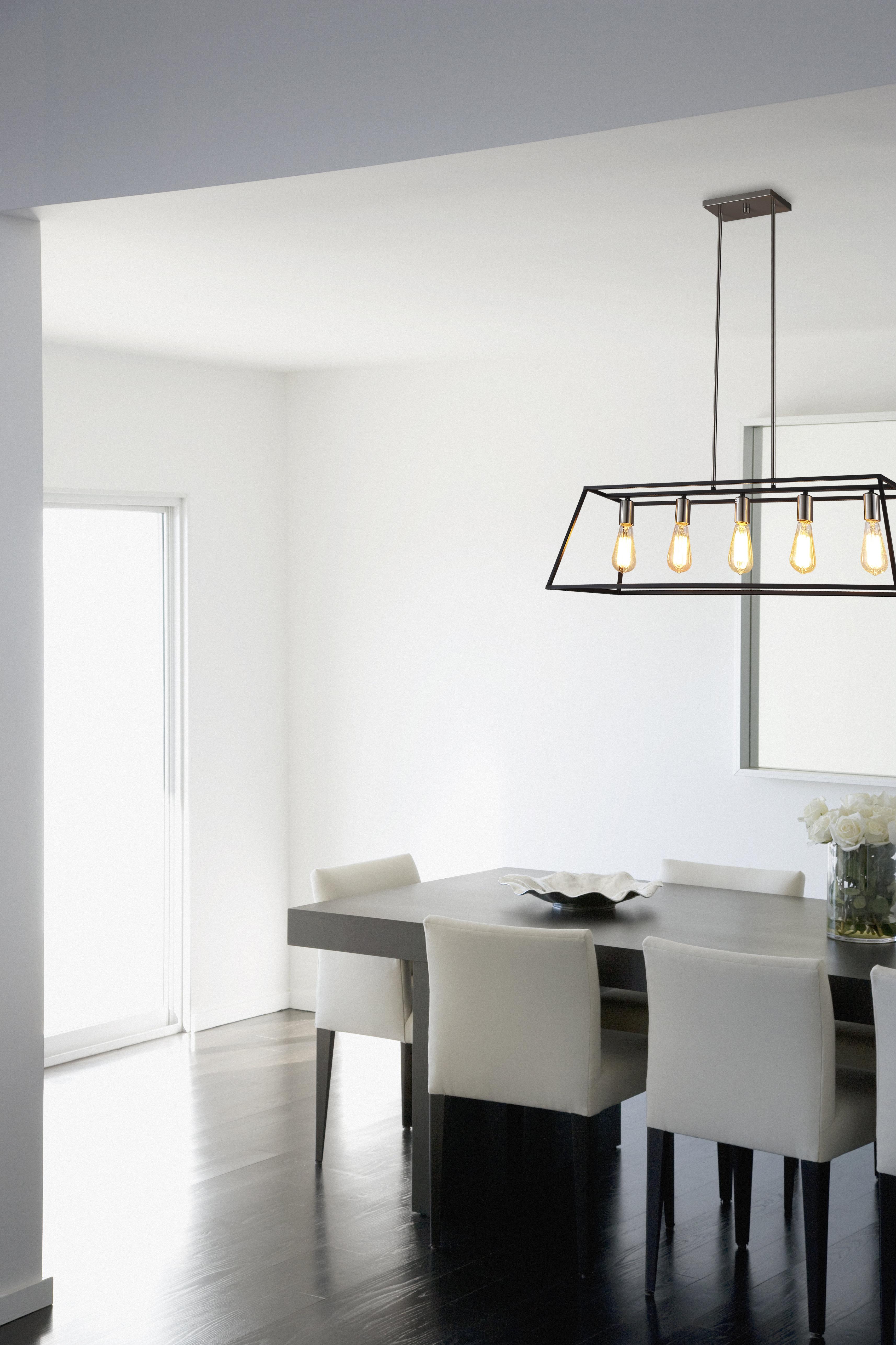 Featured Photo of Hinerman 5 Light Kitchen Island Pendants