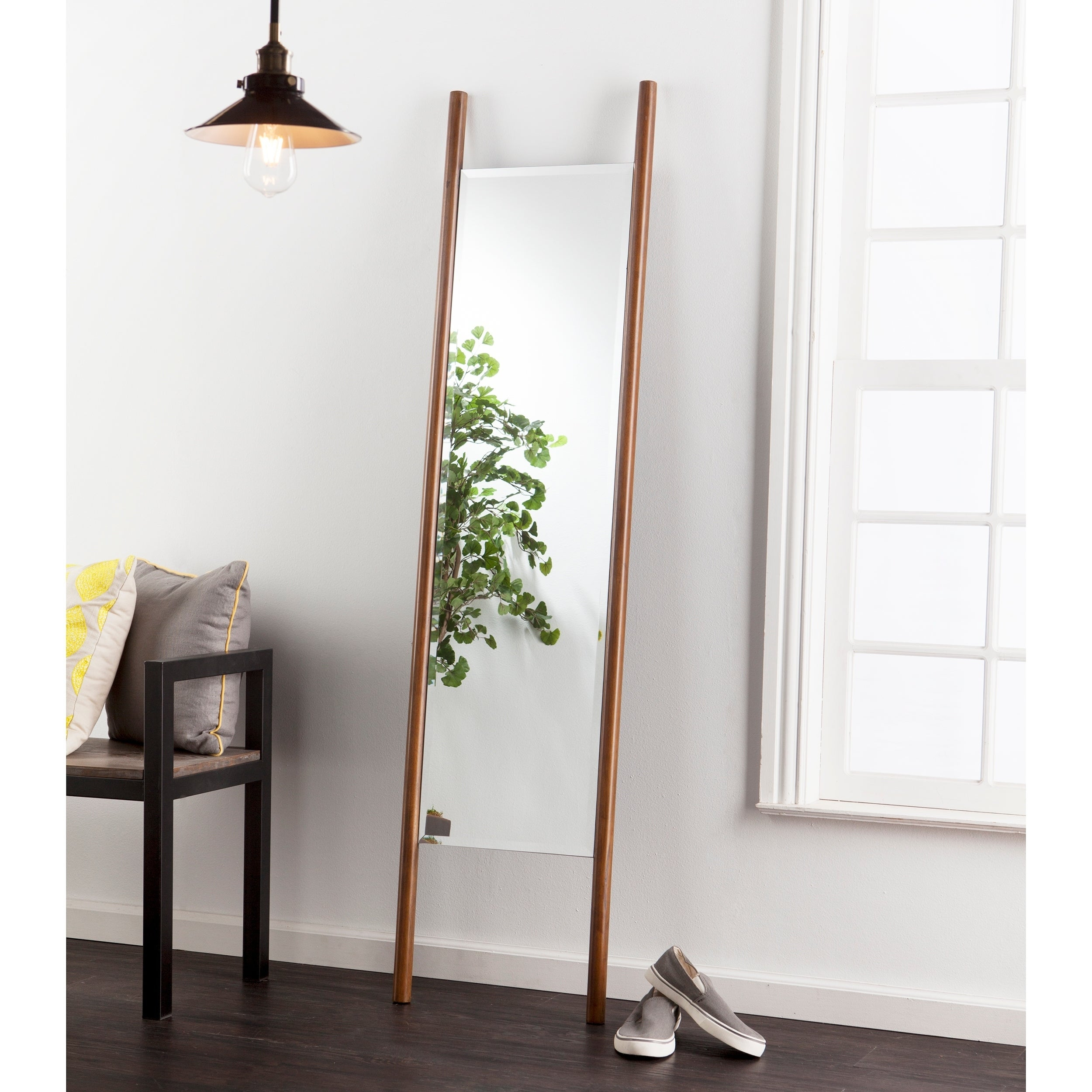 Holly & Martin Swain Leaning Mirror – Dark Tobacco – Dark Tobacco For Leaning Mirrors (View 8 of 30)