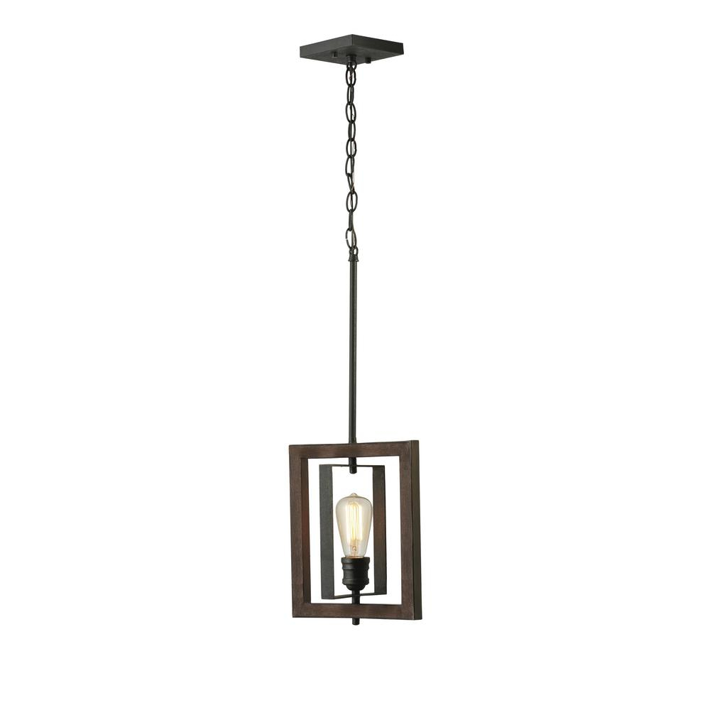 Home Decorators Collection Palermo Grove 10 In. 1-Light Gilded Iron Kitchen  Island Mini-Pendant with 1-Light Single Star Pendants (Image 21 of 30)