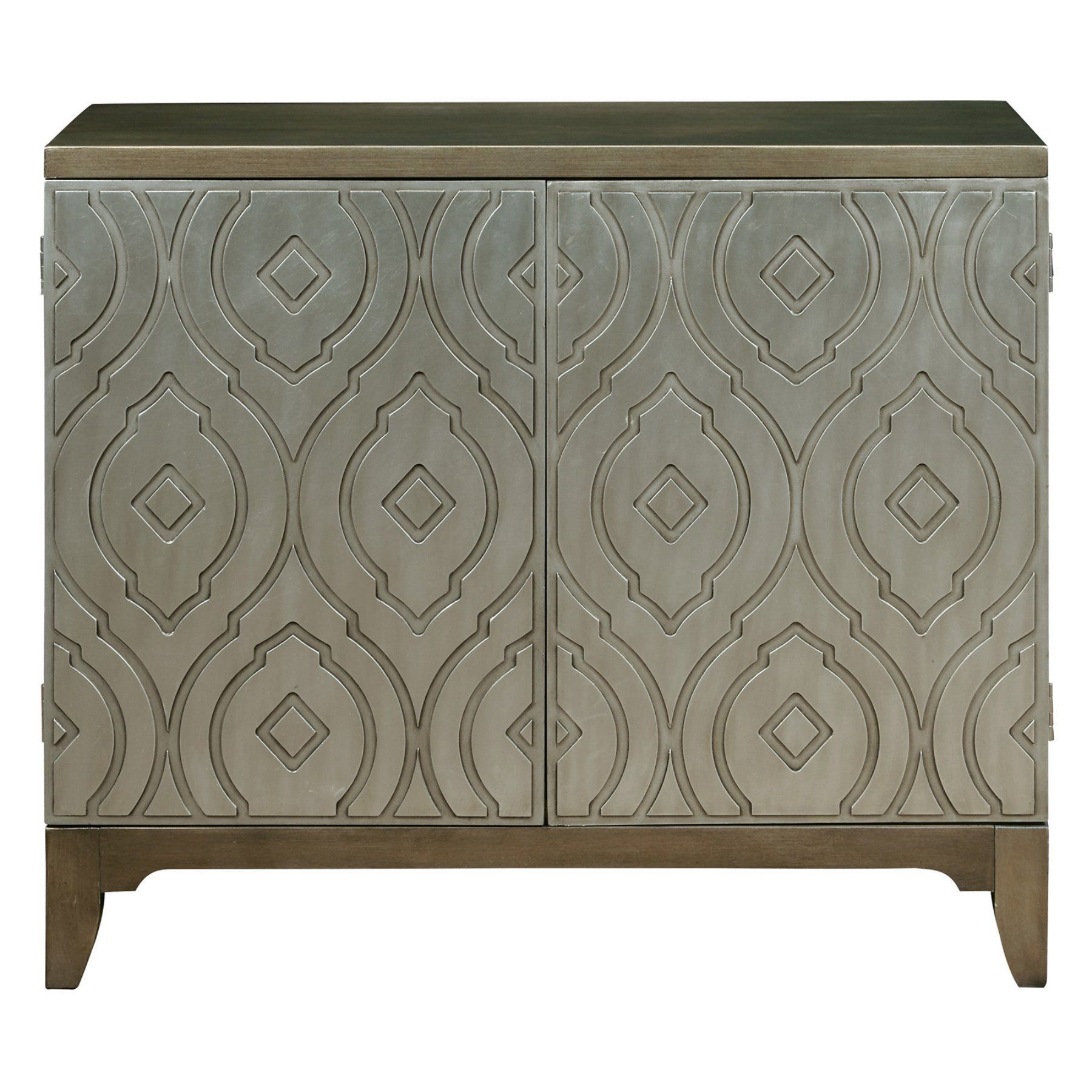 Home Meridian Imperial Metallic Bar Cabinet - Ds-P050122 pertaining to Lainey Credenzas (Image 11 of 30)