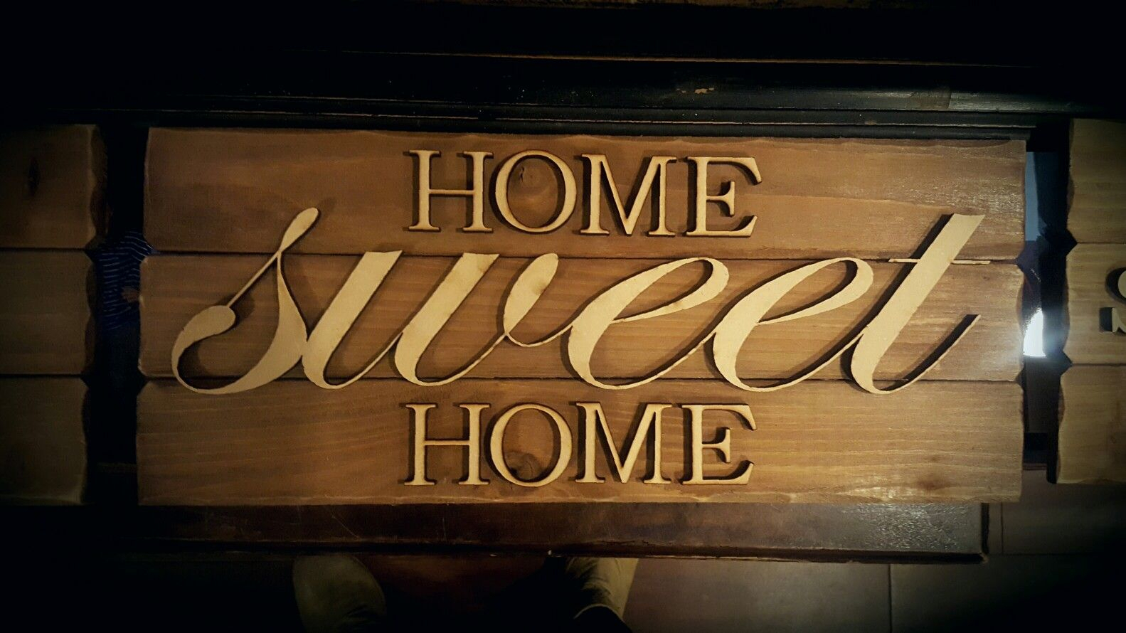 Home Sweet Home, Wall Art, New Home, Wall Decor, Wood Sign Regarding Laser Engraved Home Sweet Home Wall Decor (View 11 of 30)