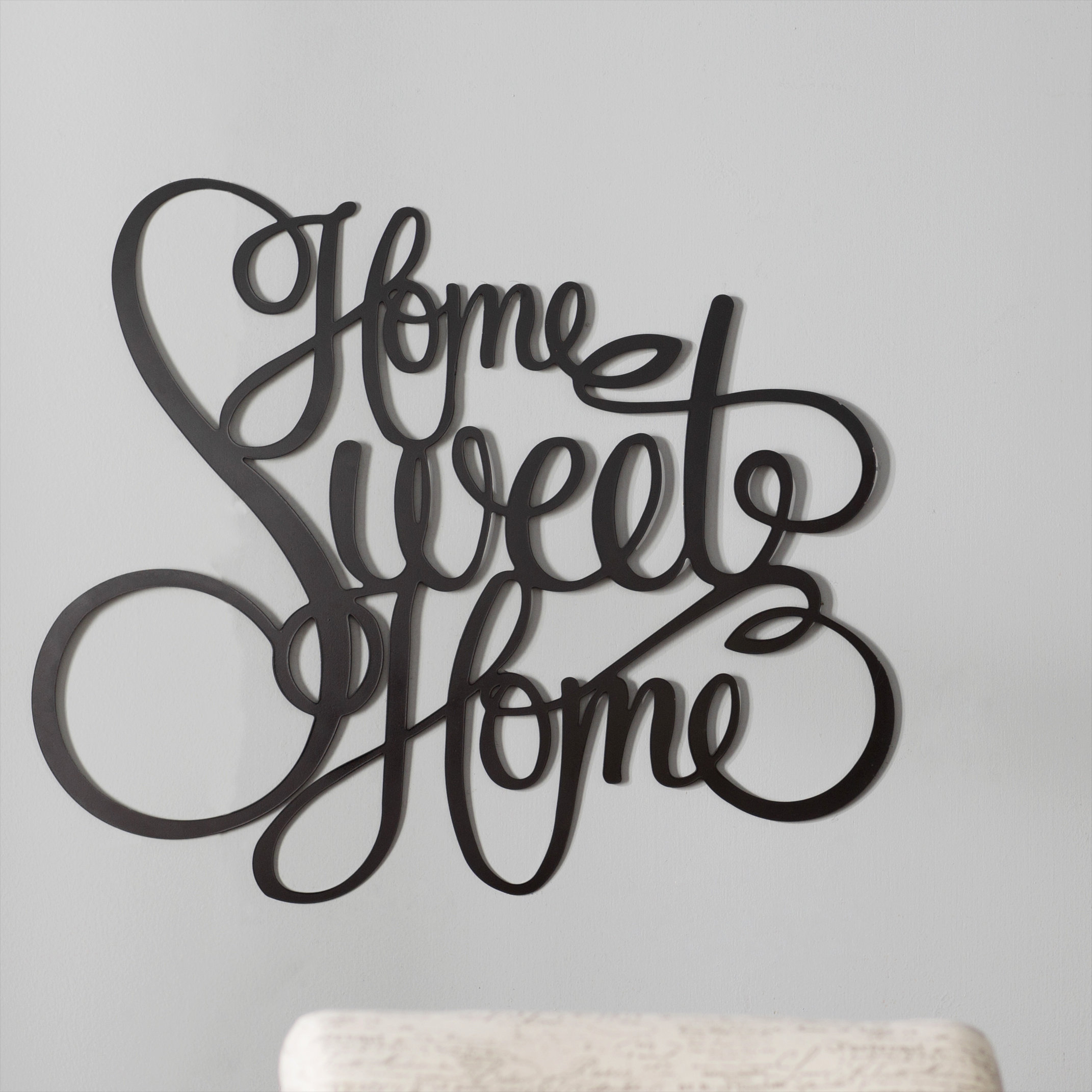 Featured Photo of Laser Engraved Home Sweet Home Wall Decor