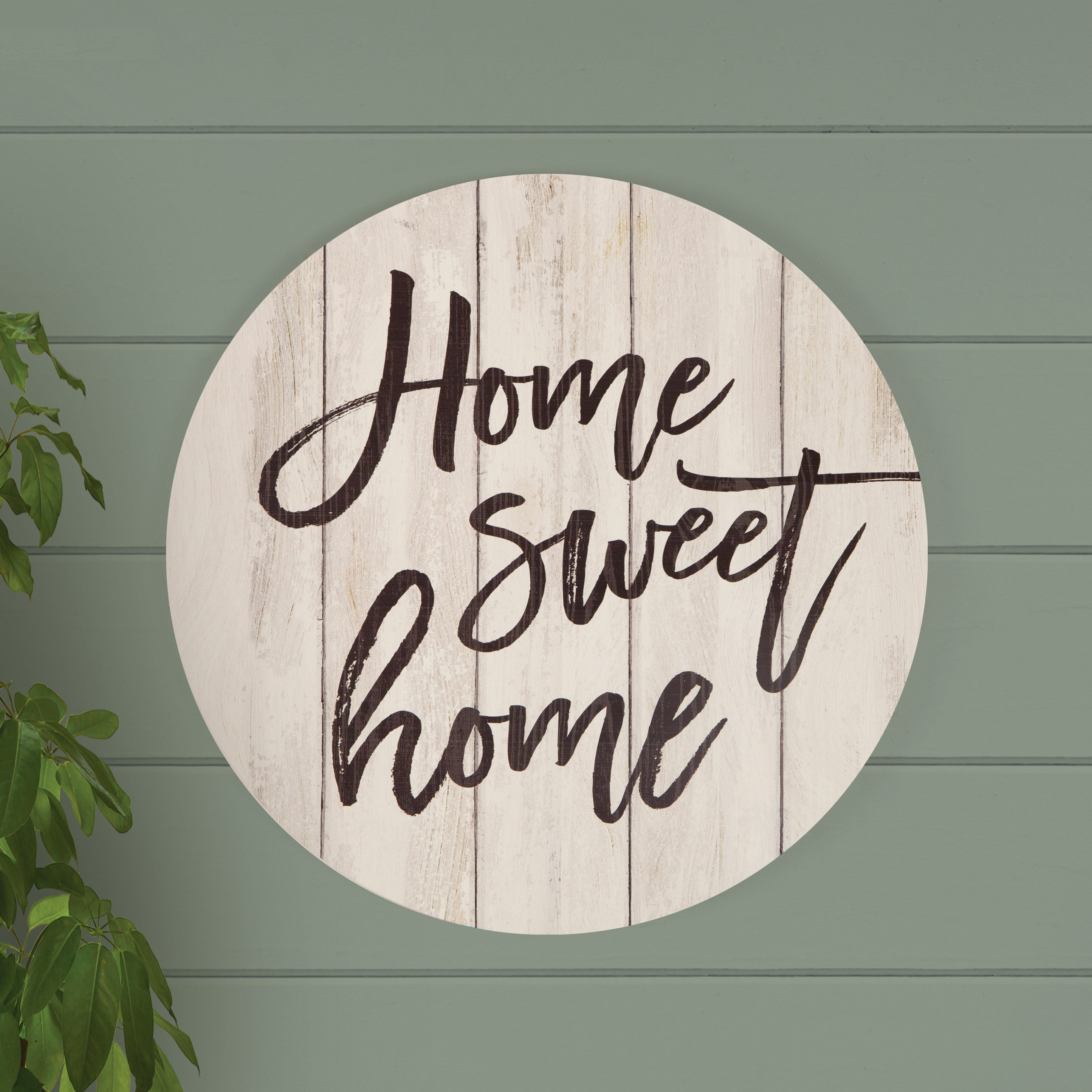 Home Sweet Home Wall Decor   Wayfair With Regard To Laser Engraved Home Sweet Home Wall Decor (View 14 of 30)