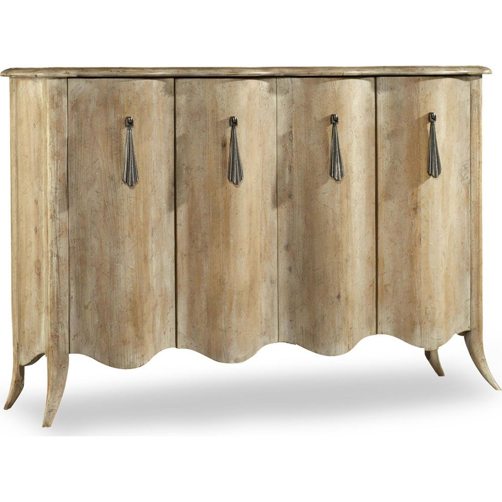 Hooker Melange Draped Credenza | Beautiful Furniture With Regard To Elyza Credenzas (View 21 of 30)