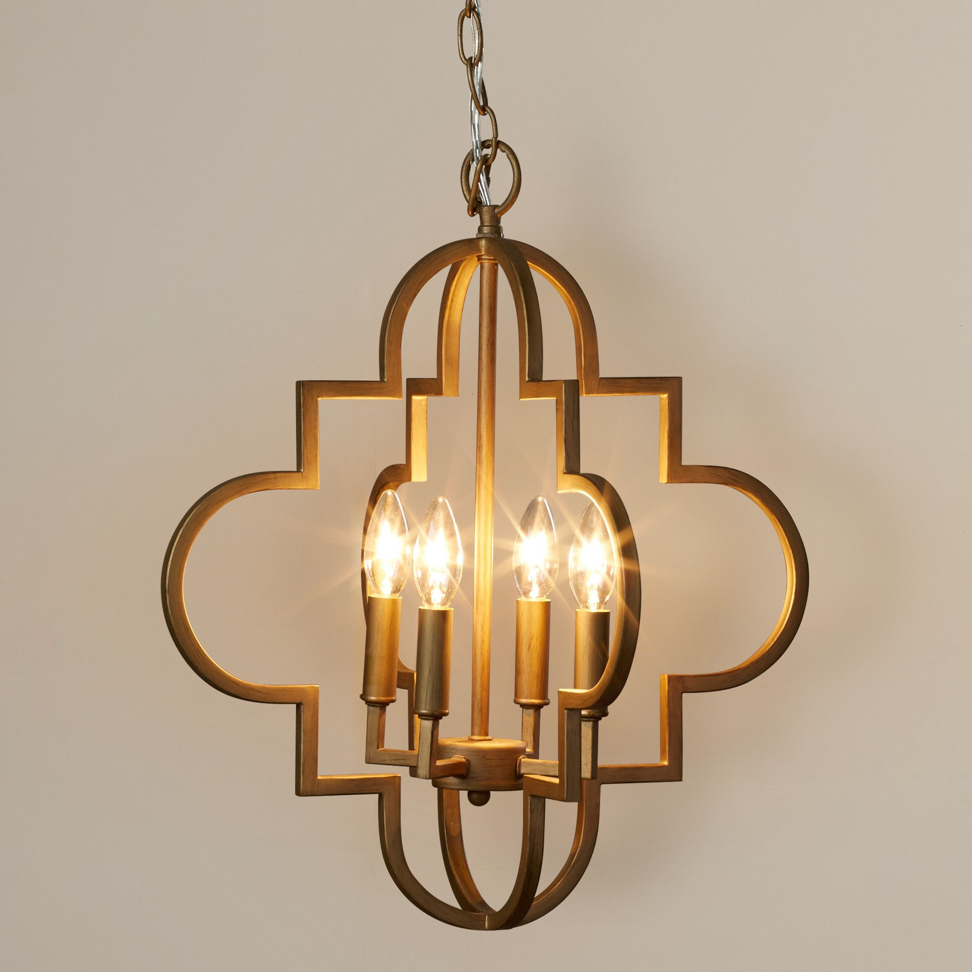 House Of Hampton Aldridge 4 Light Pendant & Reviews For Kaycee 4 Light Geometric Chandeliers (View 17 of 30)