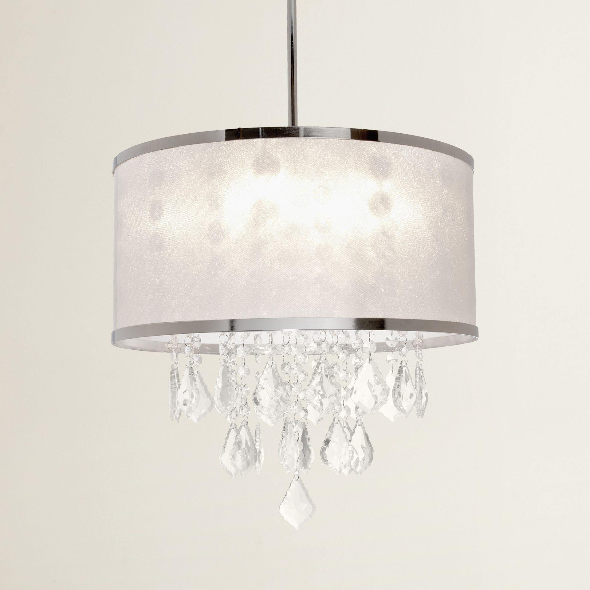 House Of Hampton® Leibowitz 4 Light Drum Chandelier Within Jill 4 Light Drum Chandeliers (View 9 of 30)