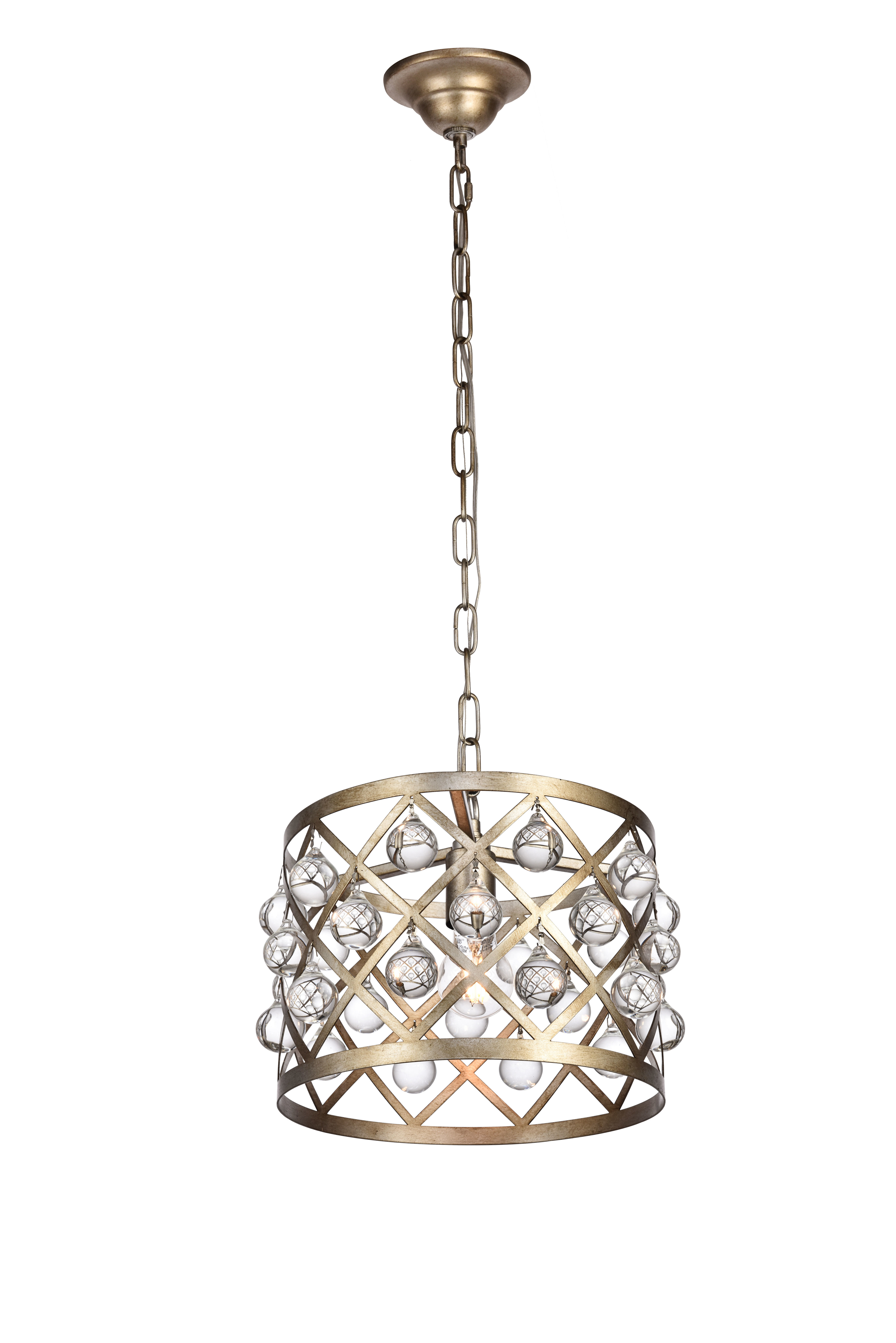 House Of Hampton Westbourne 1 Light Drum Pendant With Bellamira 1 Light Drum Pendants (View 14 of 30)