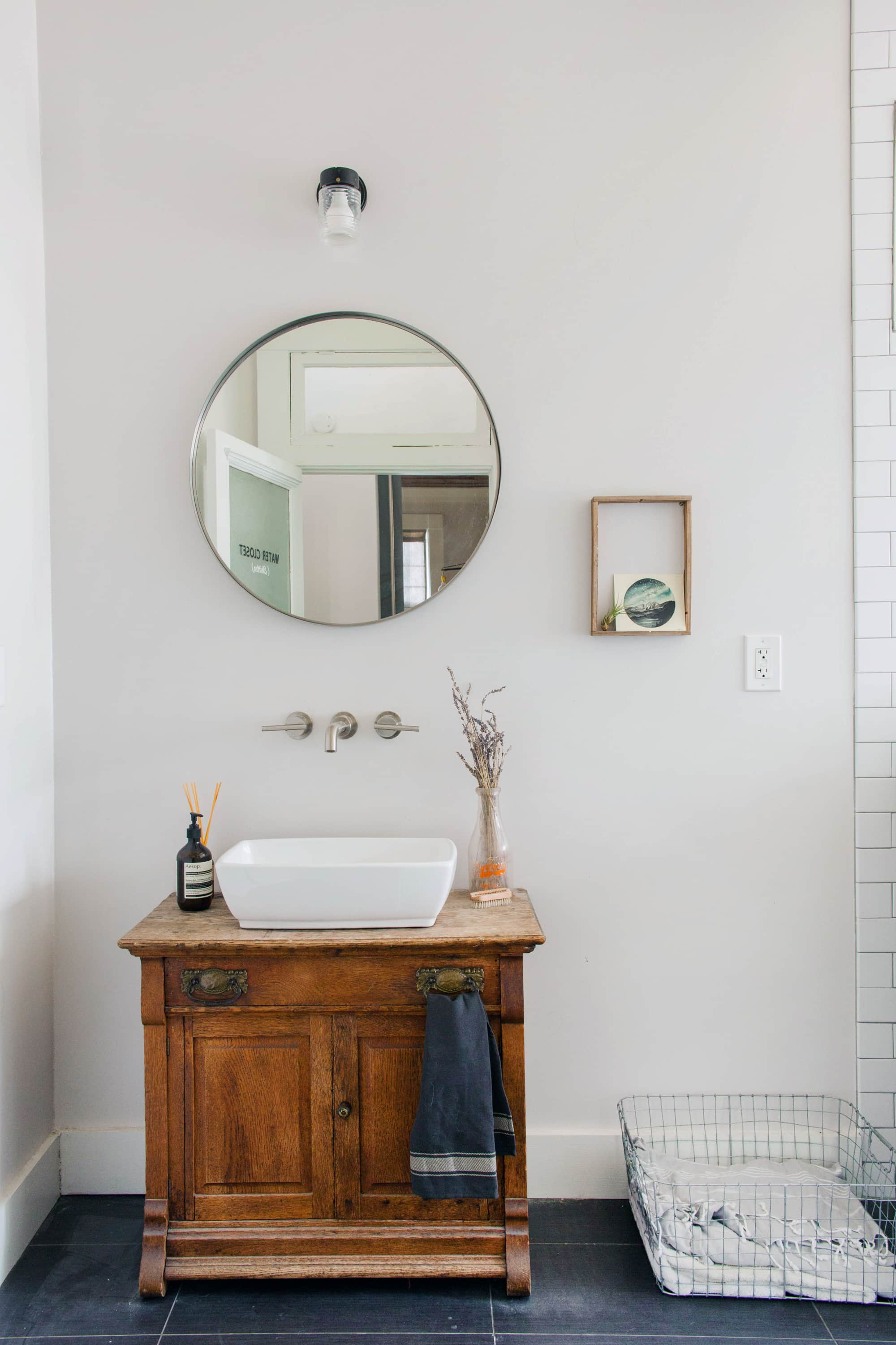 House Tour: Industrial,texas Minimalism In East Austin Throughout Austin Industrial Accent Mirrors (Image 14 of 30)