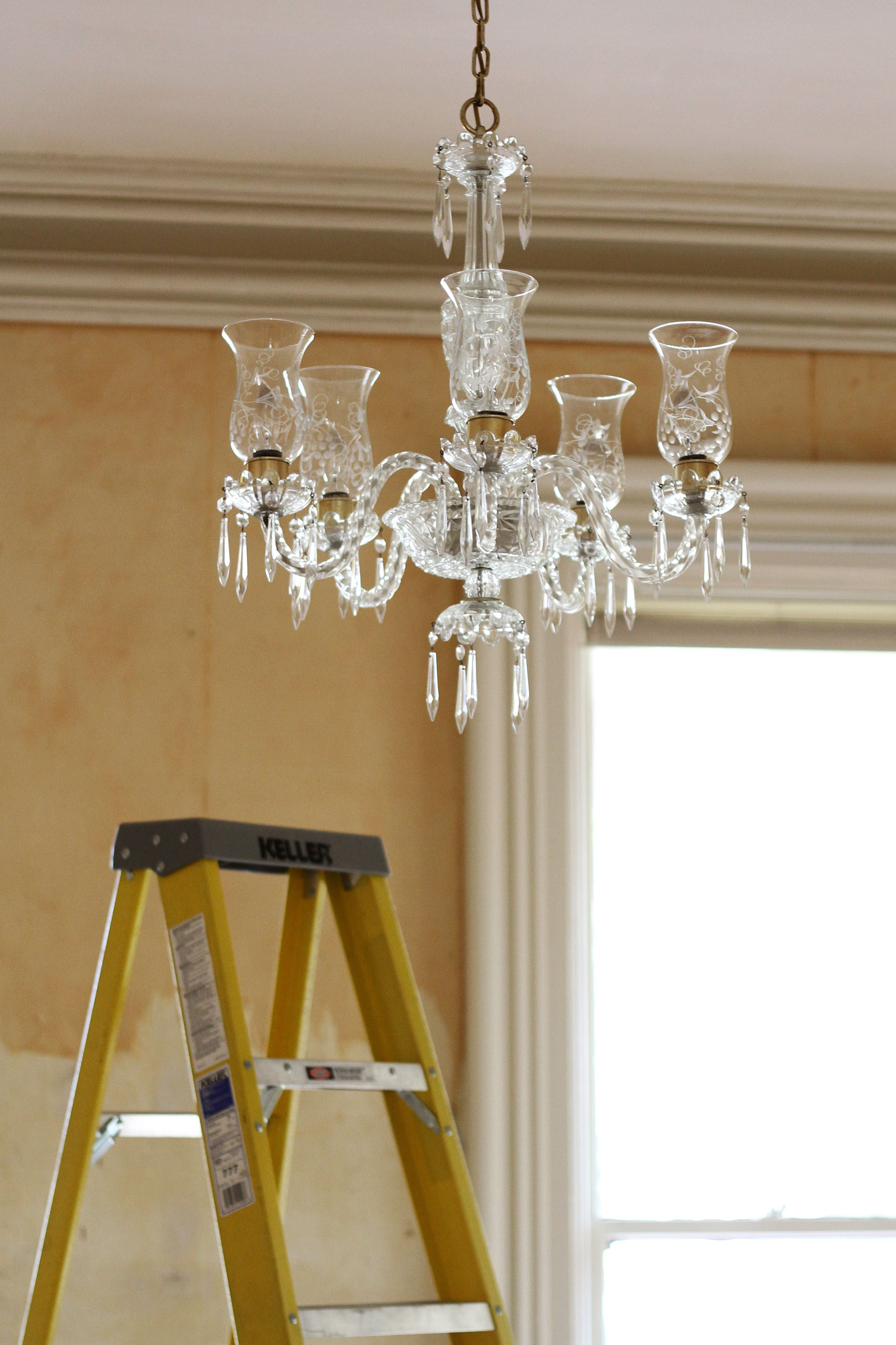 How To Clean A Chandelier | Apartment Therapy Throughout Clea 3 Light Crystal Chandeliers (View 23 of 30)