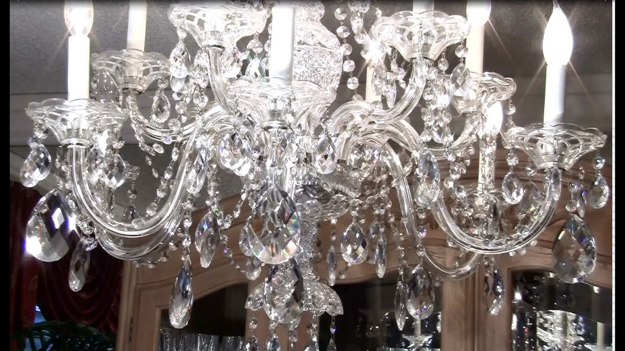 How To Clean A Crystal Chandelier Within Clea 3 Light Crystal Chandeliers (View 5 of 30)
