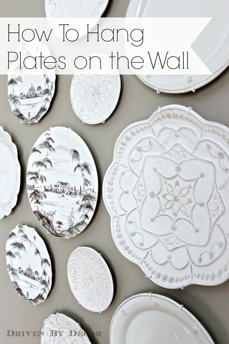 How To Hang Plates On The Wall (The Best Hangers & More in Multi Plates Wall Decor (Image 10 of 30)