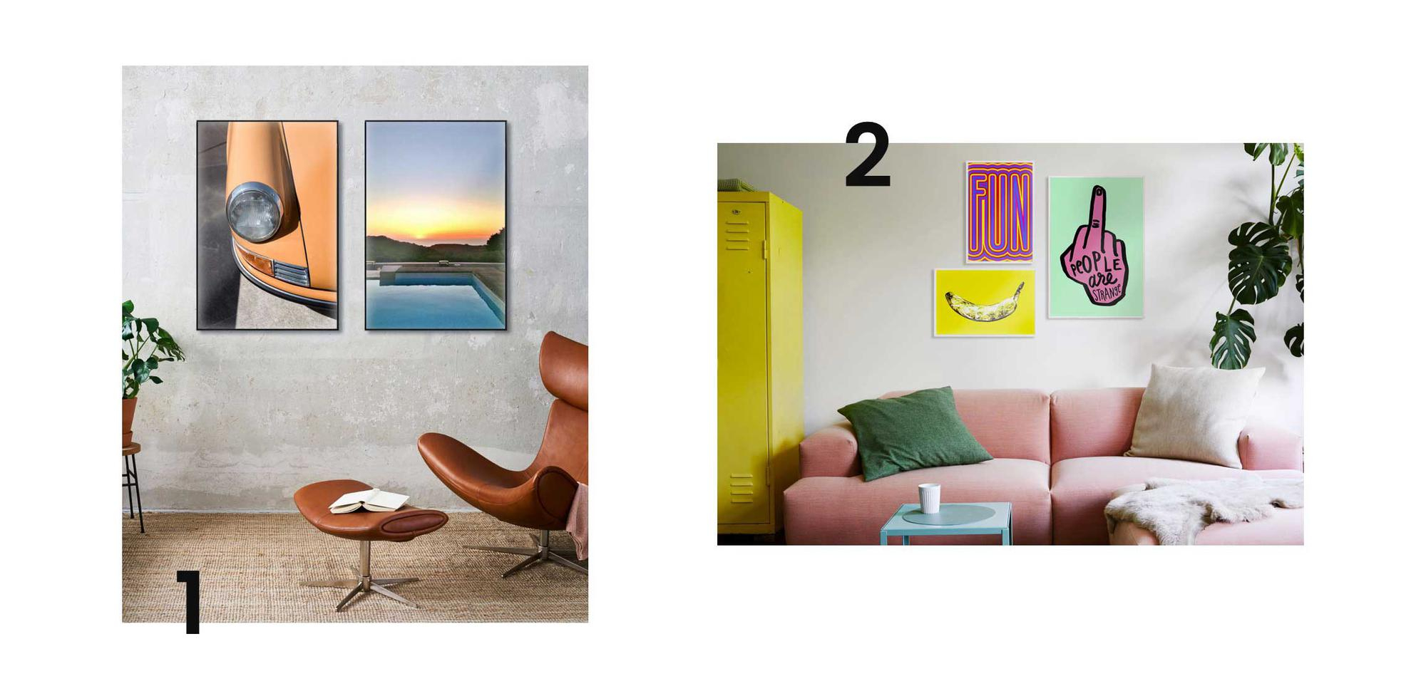"""How To Hang Your Pictures • Create Your Own Gallery Wall intended for In-a-Word """"welcome"""" Wall Decor (Image 12 of 30)"""