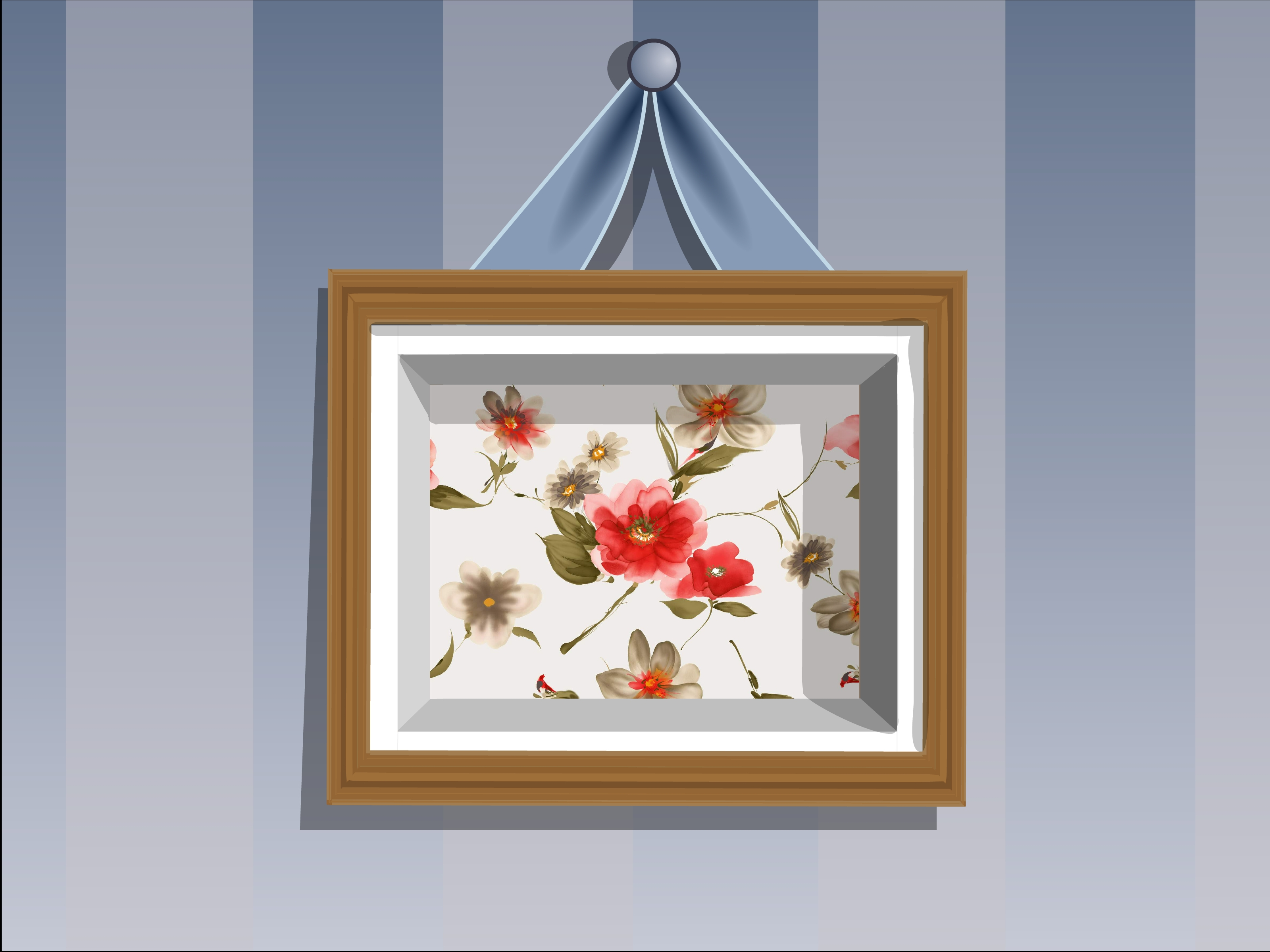 How To Make A Shadow Box Frame: 11 Steps (With Pictures Within Caja Rectangle Glass Frame Wall Mirrors (View 18 of 30)
