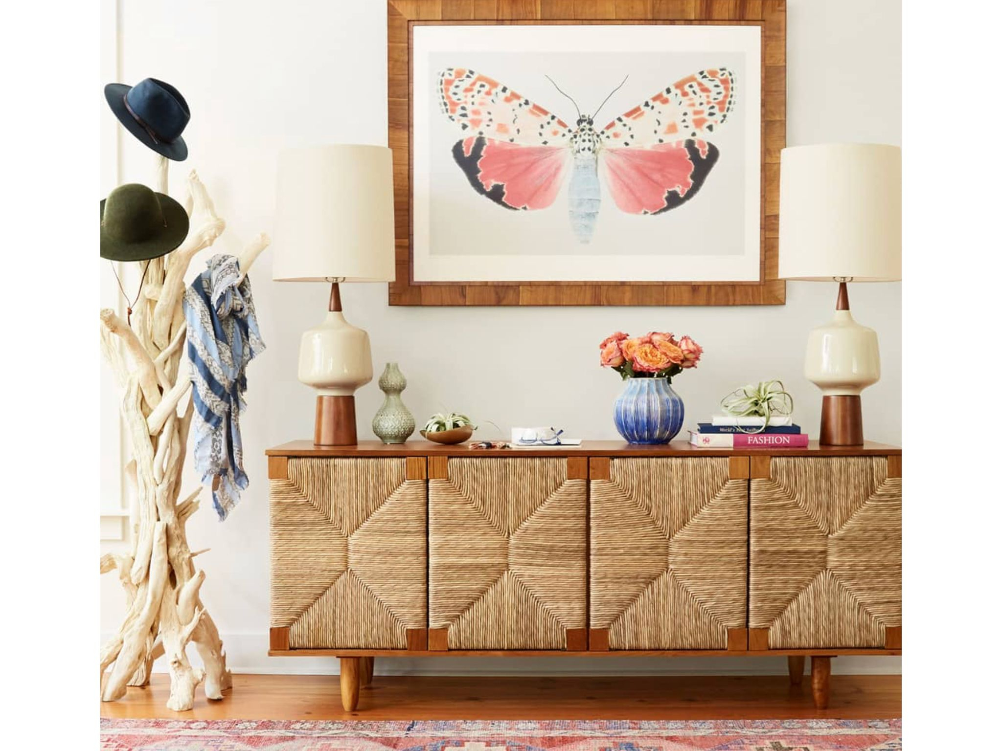 "How To Make Cozy Look Cool"" From Hgtv Magazine, May 2018 With Regard To Joyner Sideboards (Image 17 of 30)"
