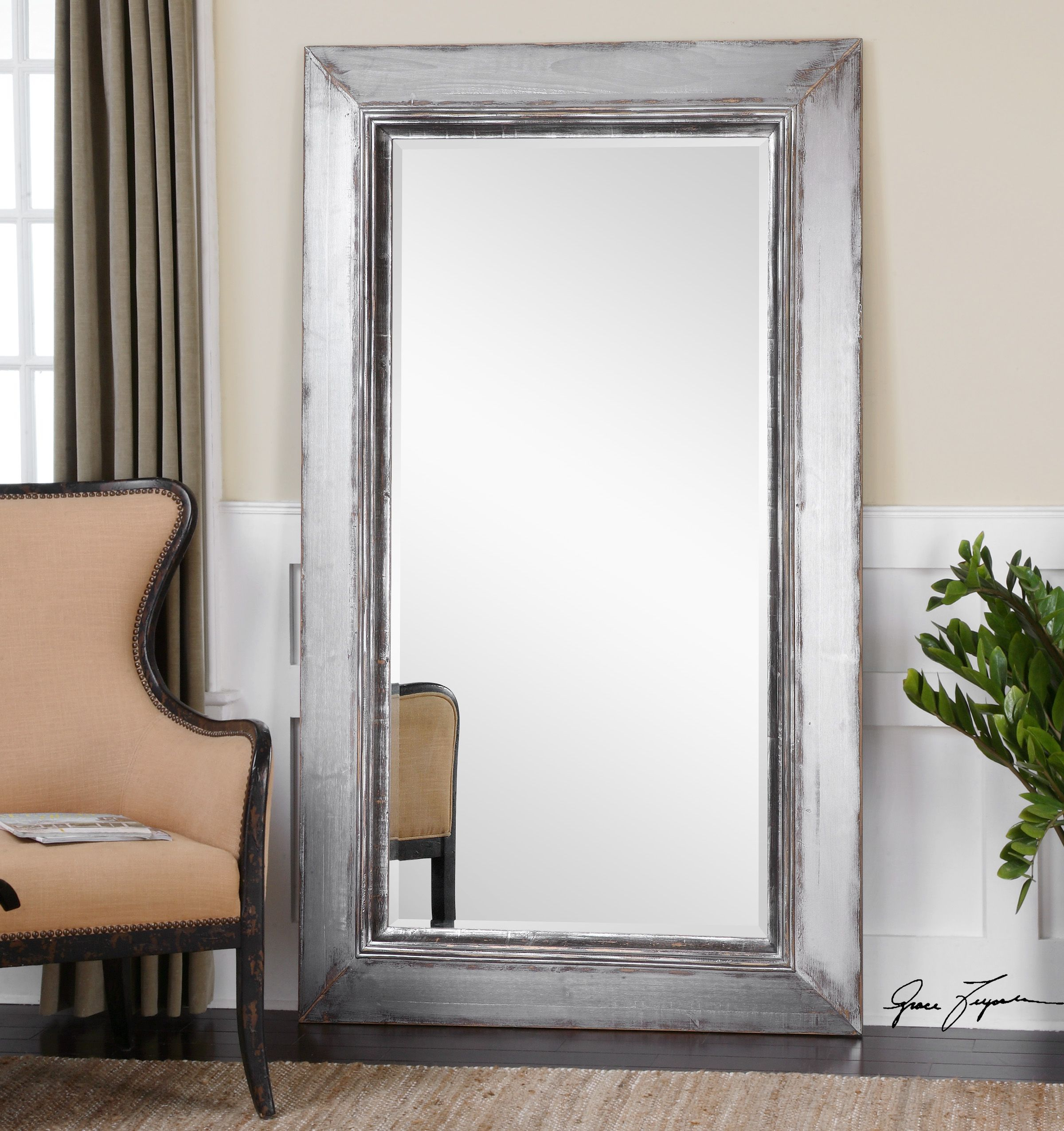How To Secure A Leaning Mirror Intended For Leaning Mirrors (View 9 of 30)