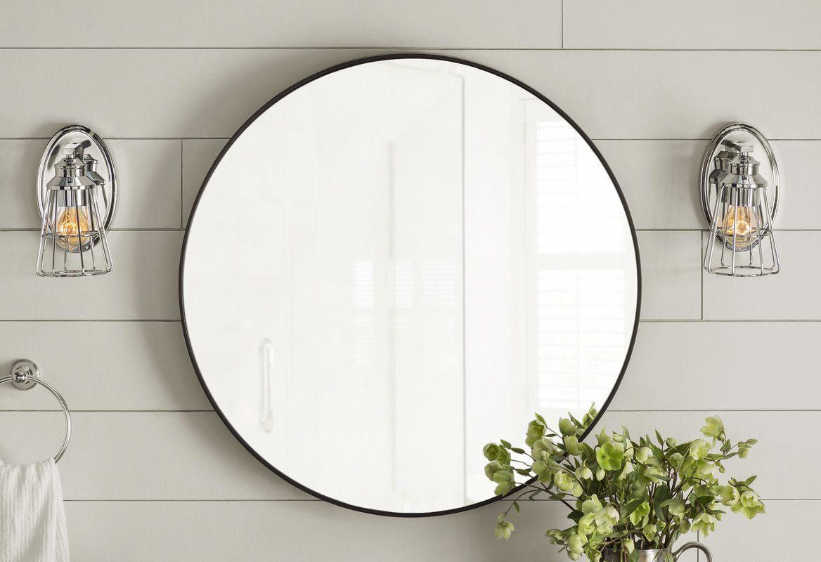Hub Modern And Contemporary Accent Mirror | Bathroom Goods throughout Hub Modern And Contemporary Accent Mirrors (Image 15 of 30)