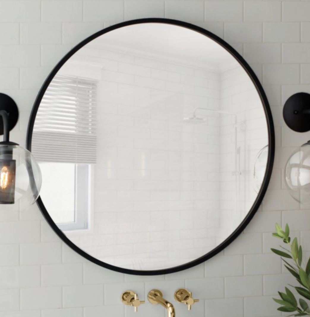 Hub Modern And Contemporary Accent Mirror In 2019 | 6098 Intended For Kayden Accent Mirrors (View 16 of 30)