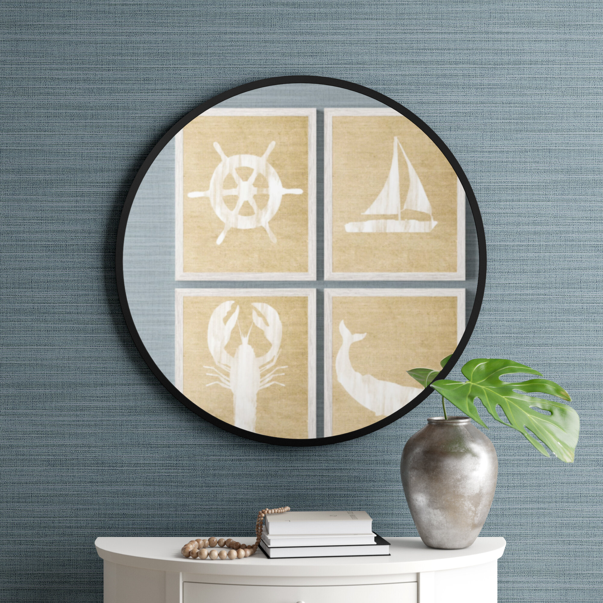 Hub Modern And Contemporary Accent Mirror in Hub Modern and Contemporary Accent Mirrors (Image 10 of 30)